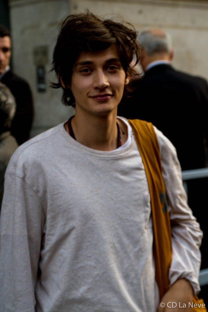Models of Hermes Paris Fashion Week Menswear SS17