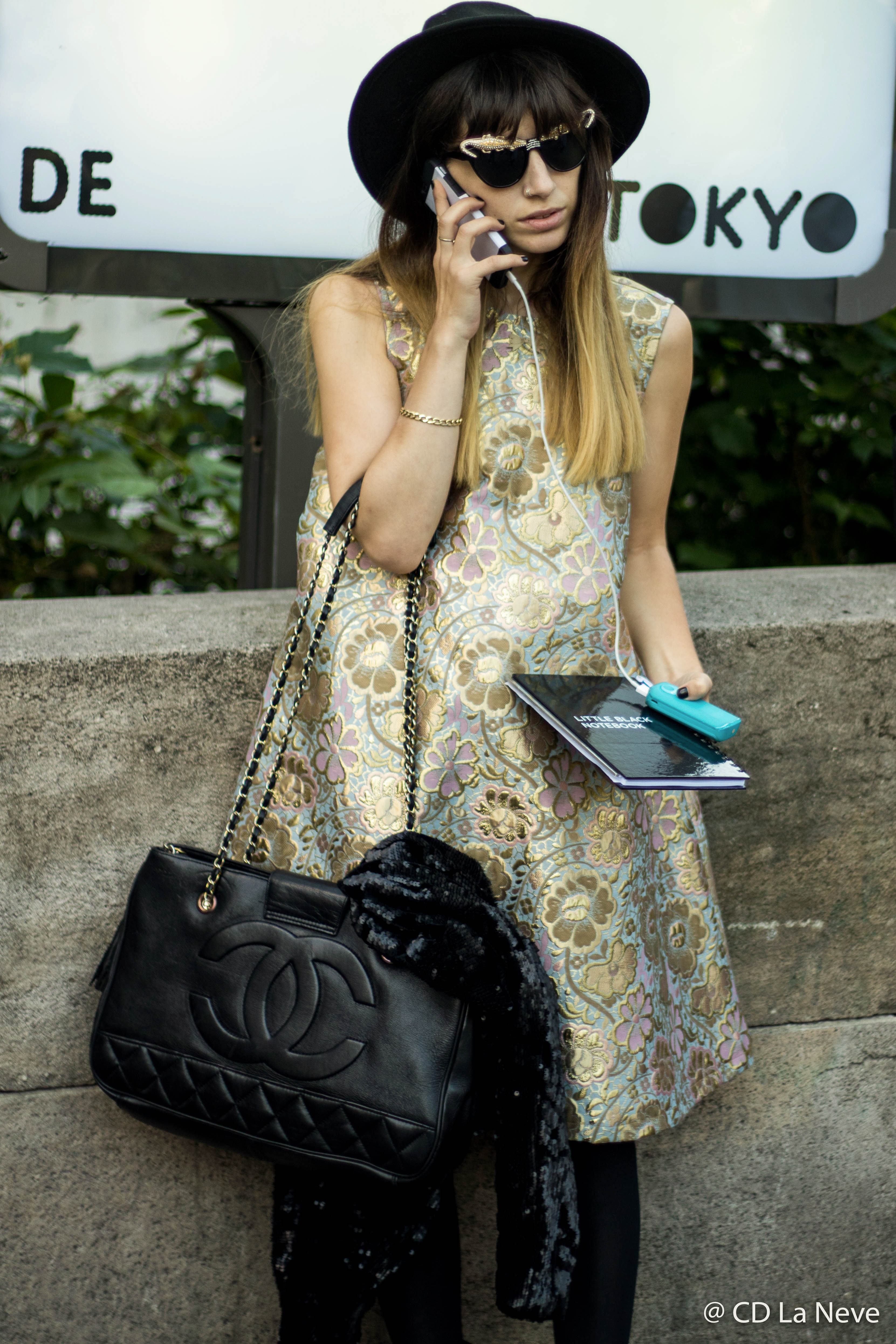 Street Style at Palais De Tokyo during Paris Fashion Week