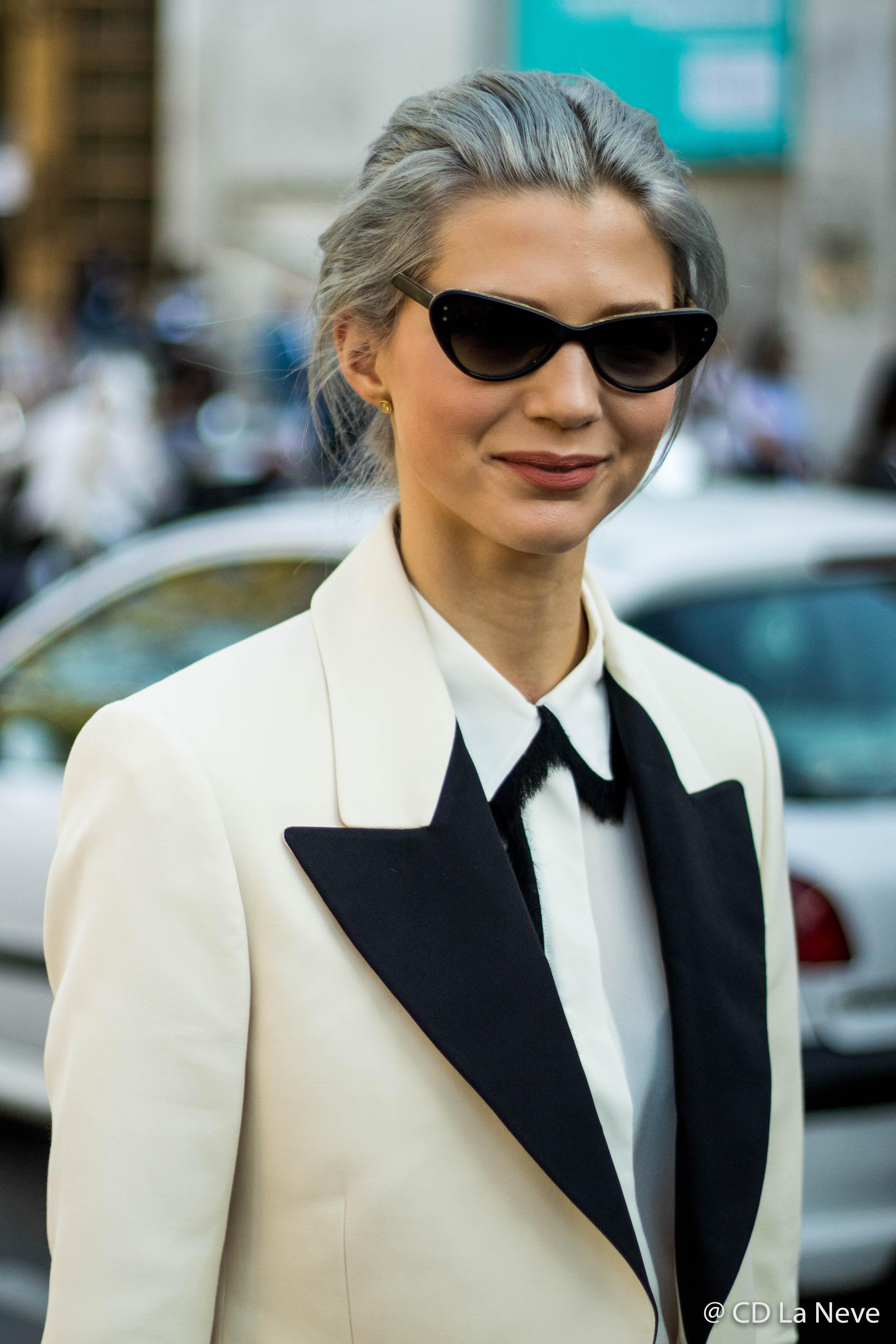Samantha Angelo at Paris Fashion Week