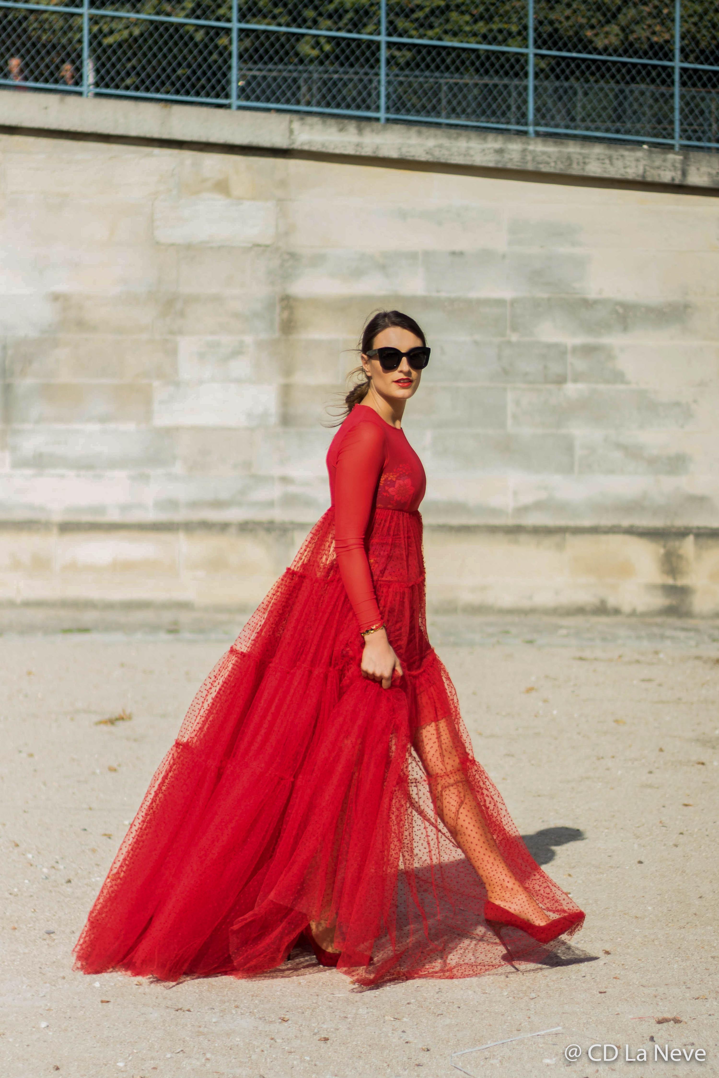 Elie Saab Street Style