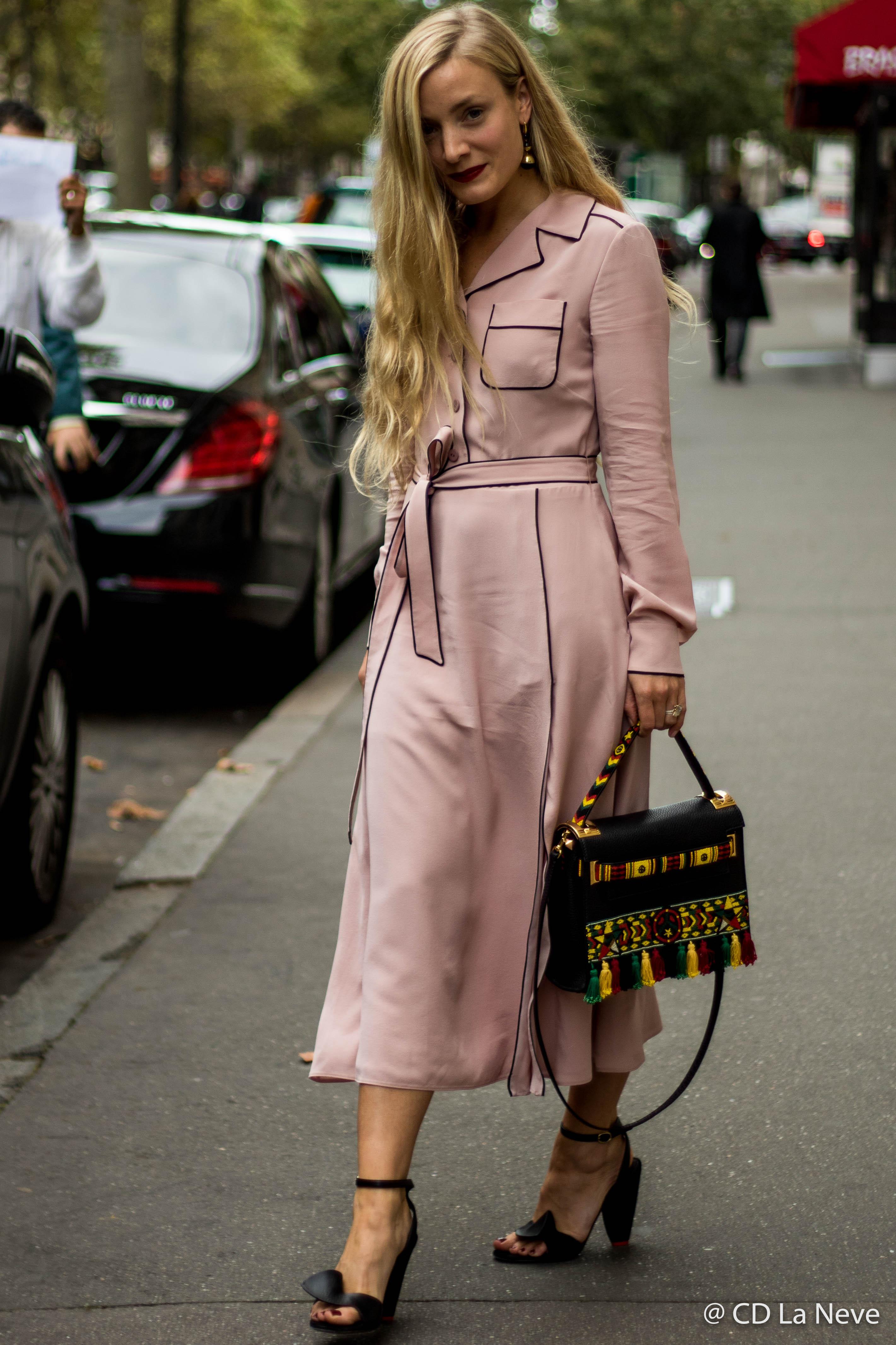 Street Style at Valentino