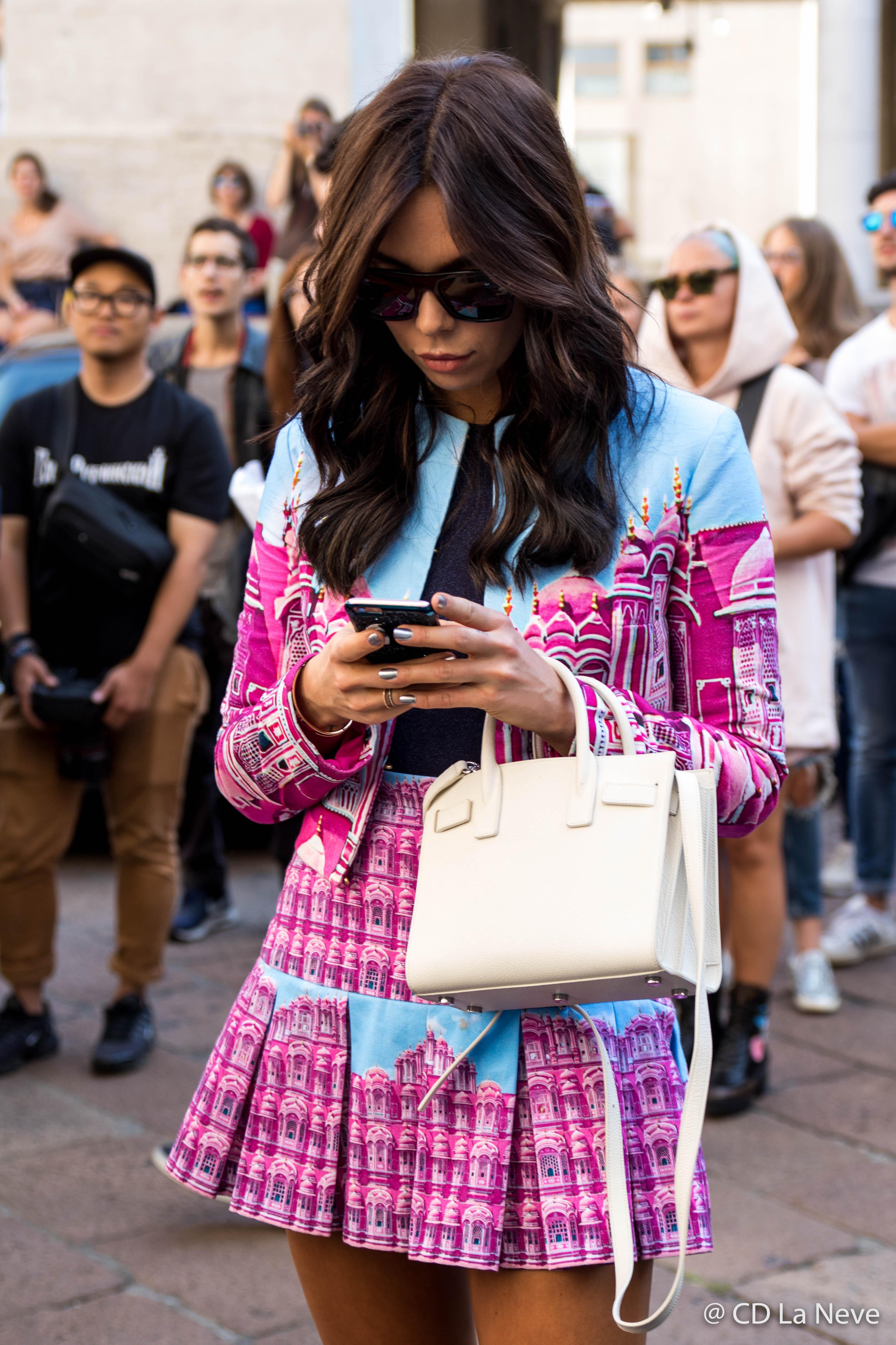 Street Style Milan Fashion Week SS17