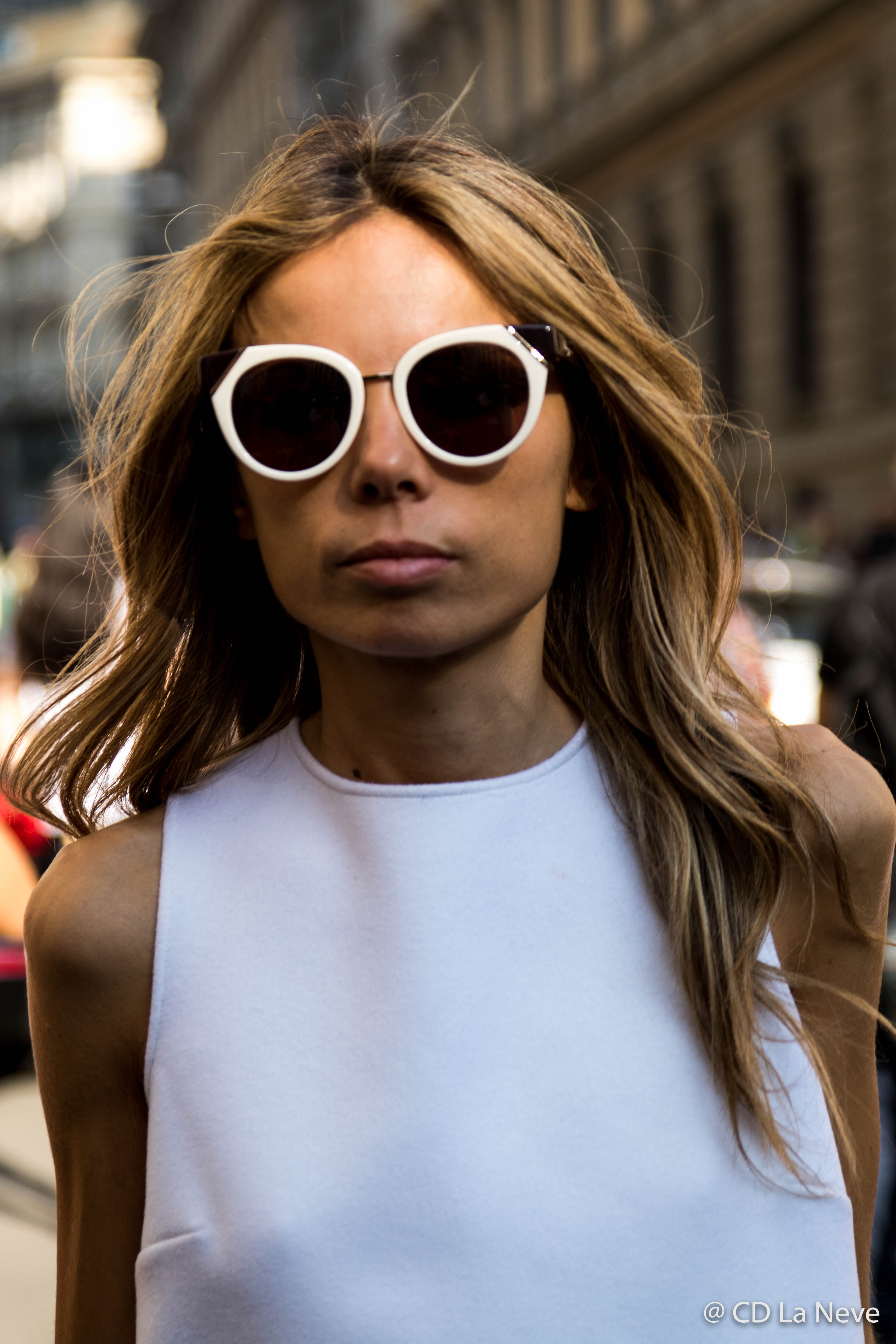 Erica Pelosini Milan Fashion Week Street Style