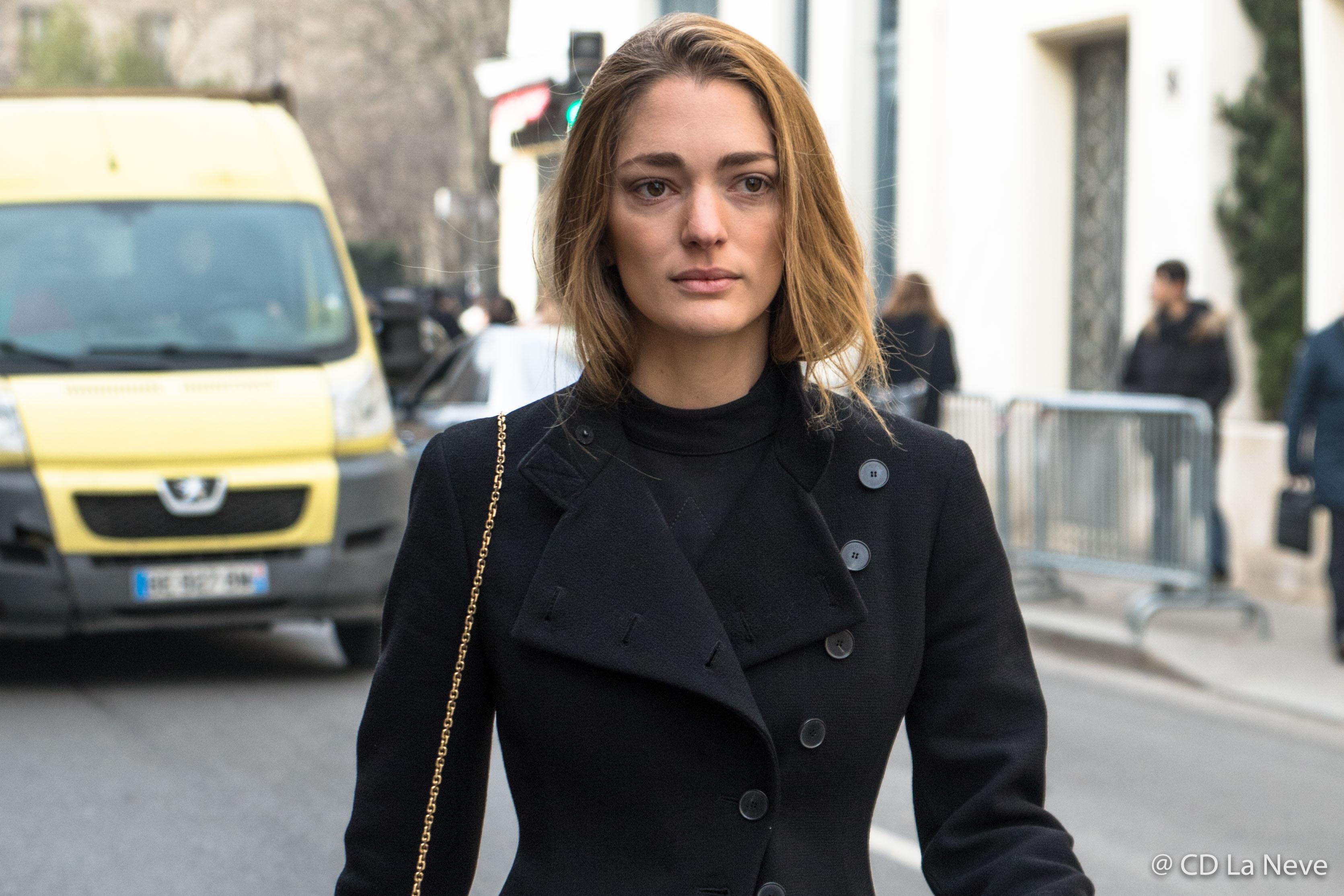 Sofia Sanchez de Betak Paris Haute Couture 2017 Street Style