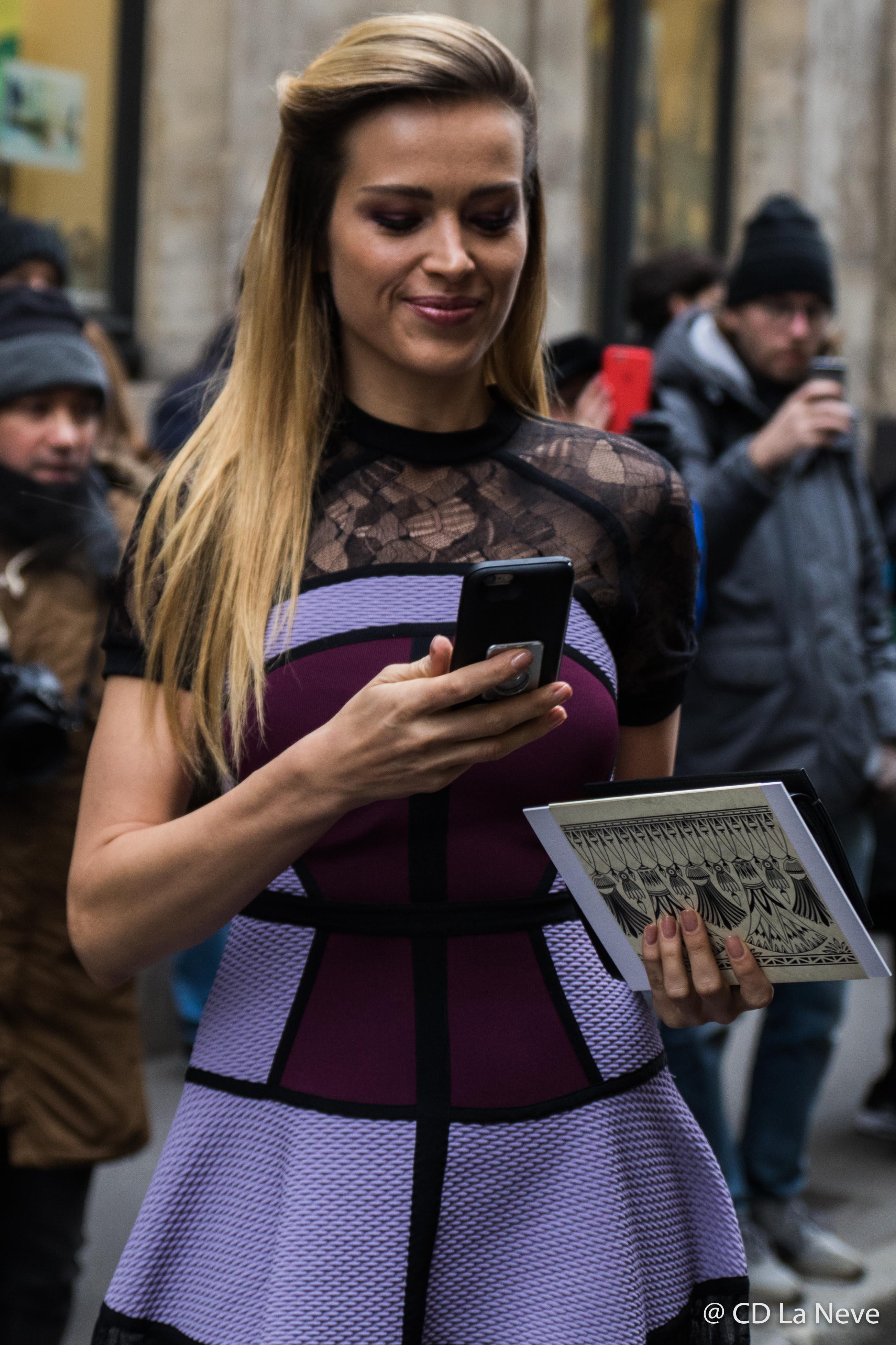Petra Nemcova Elie Saab Paris Haute Couture Week 2017