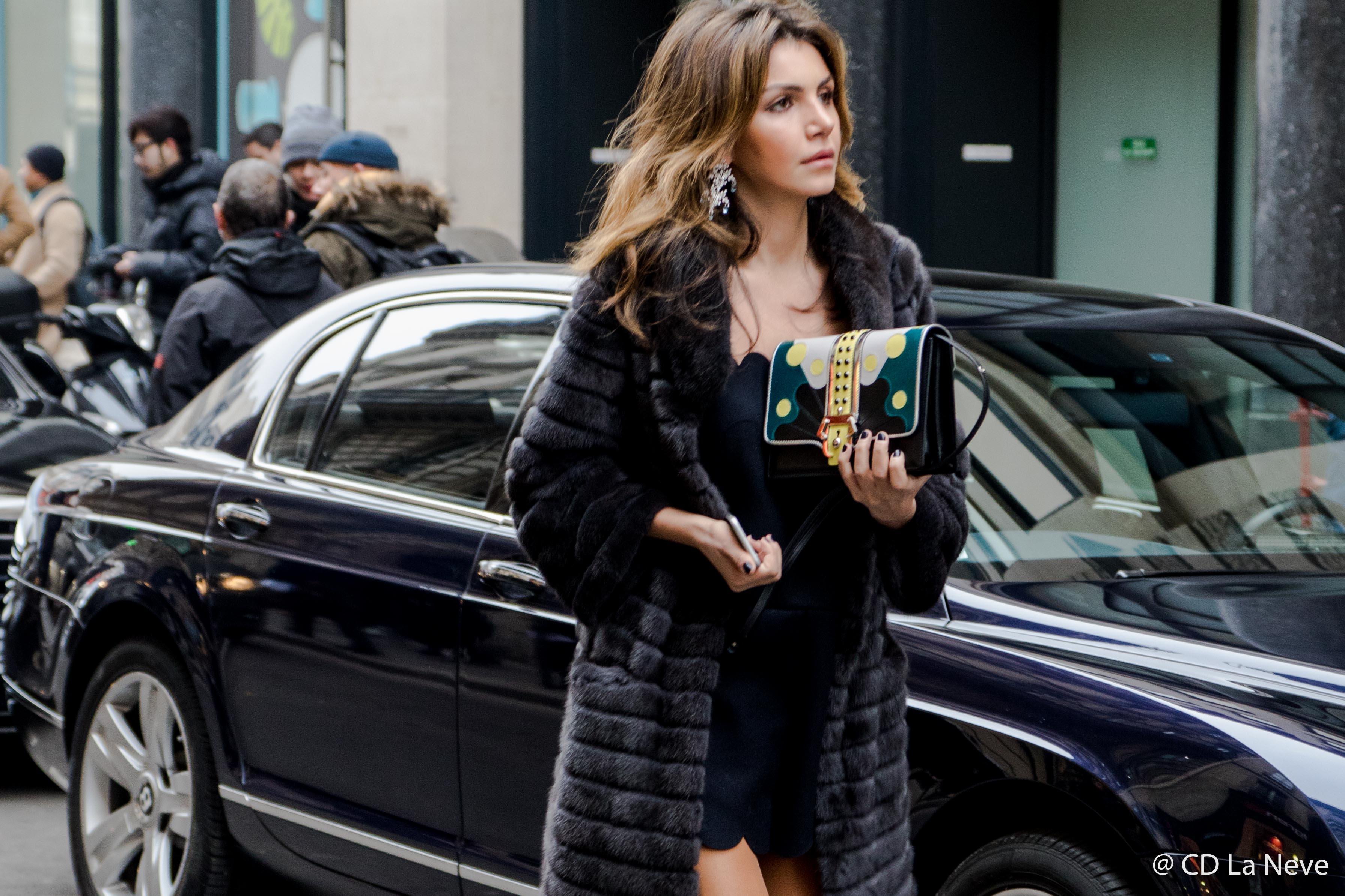 Elie Saab Paris Haute Couture Street Style 2017