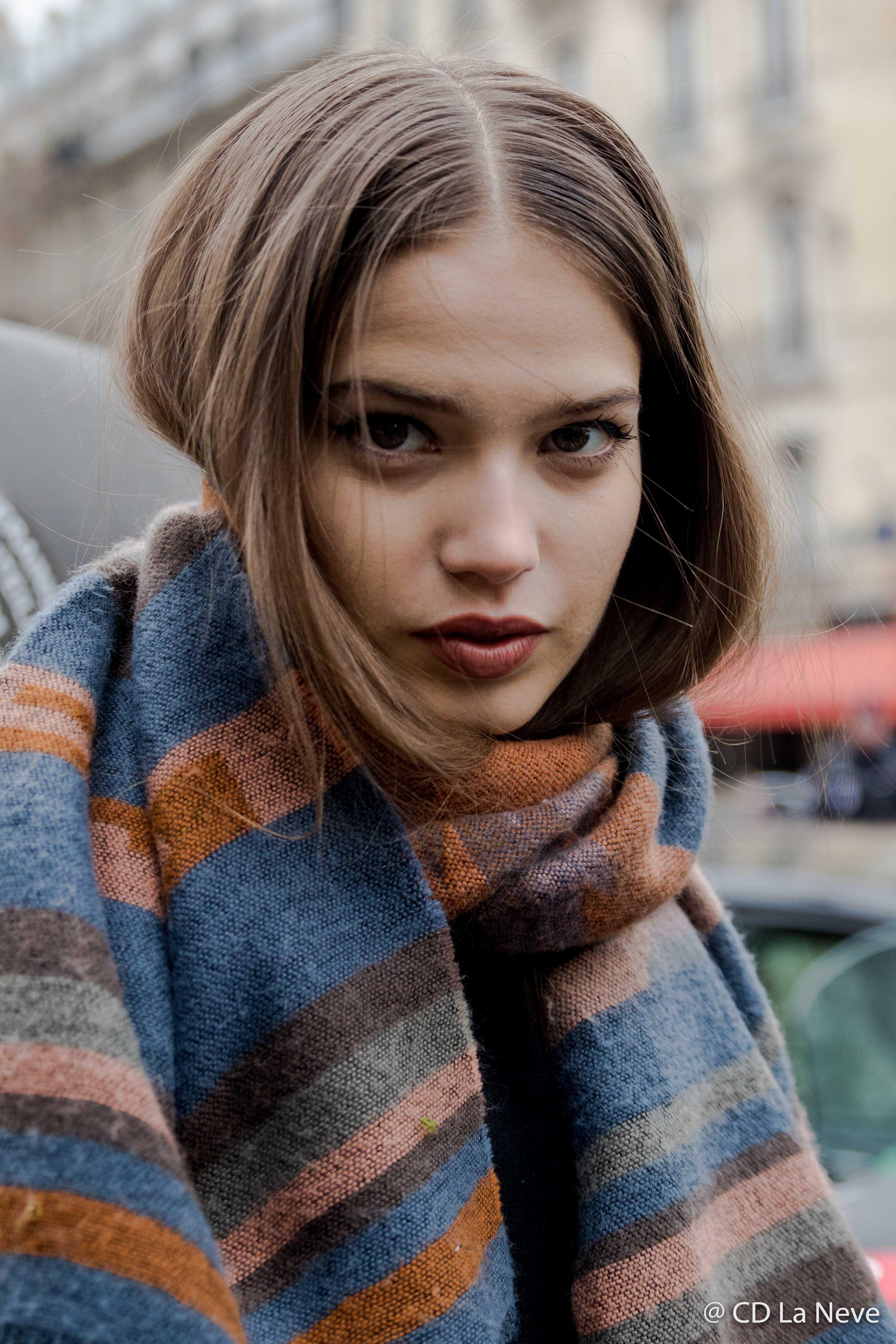 Elie Saab Model Paris Fashion Week Haute Couture SS17