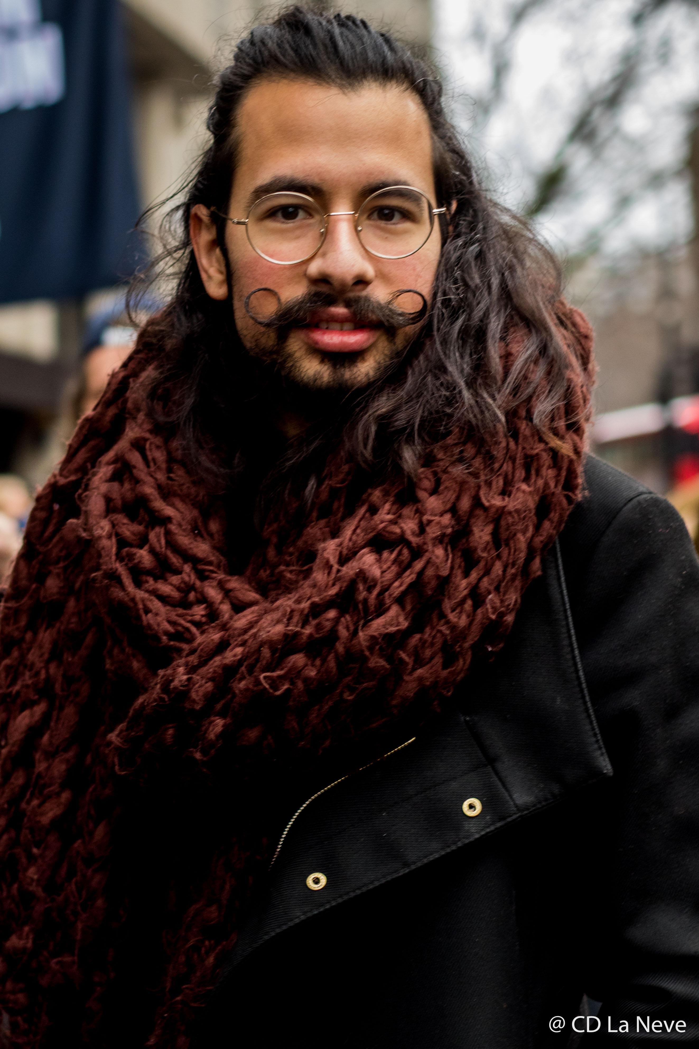 London Fashion Week Men's Street Style AW17
