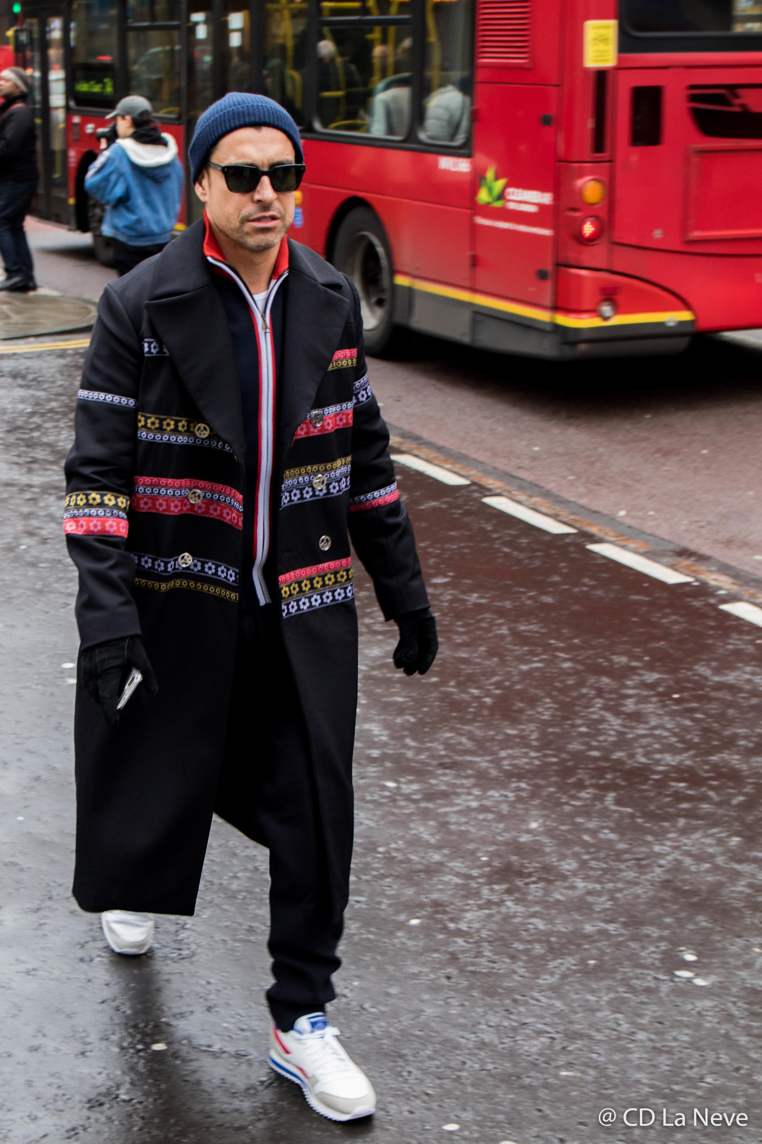 London Fashion Week Men's AW17