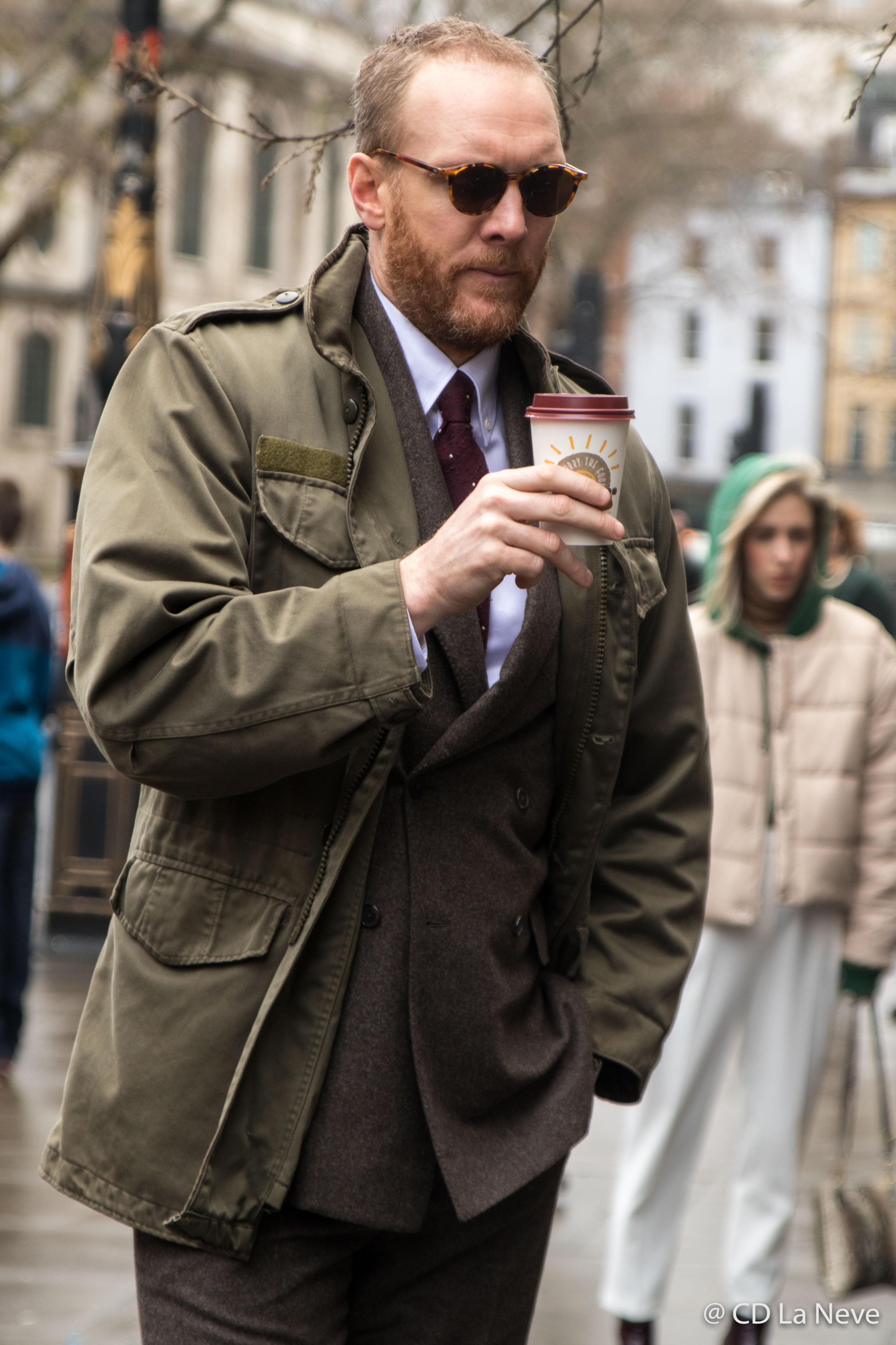 Joe Ottaway London Fashion Week Men's AW17