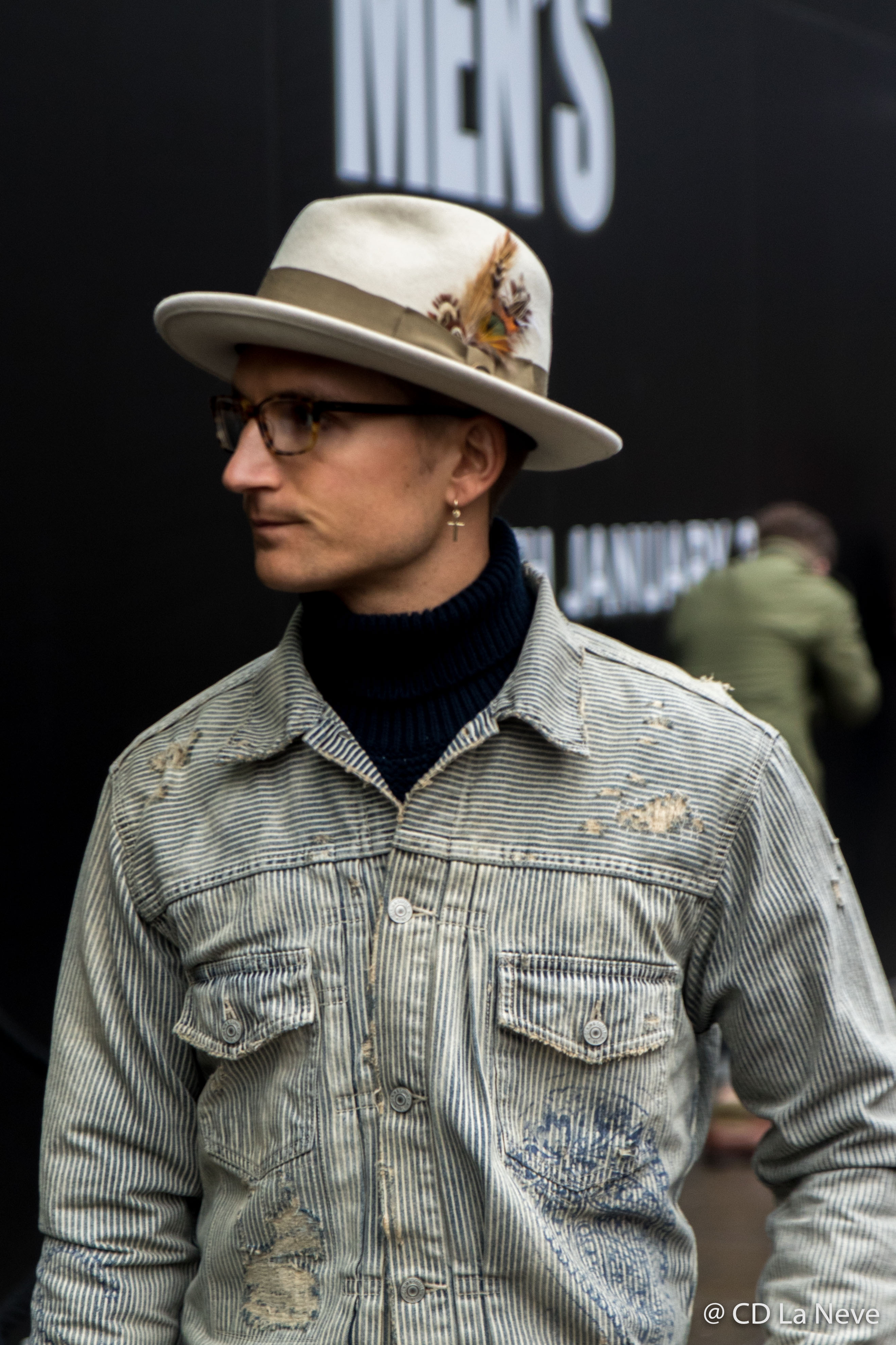 Ollie Proudlock London Fashion Week Men's AW17