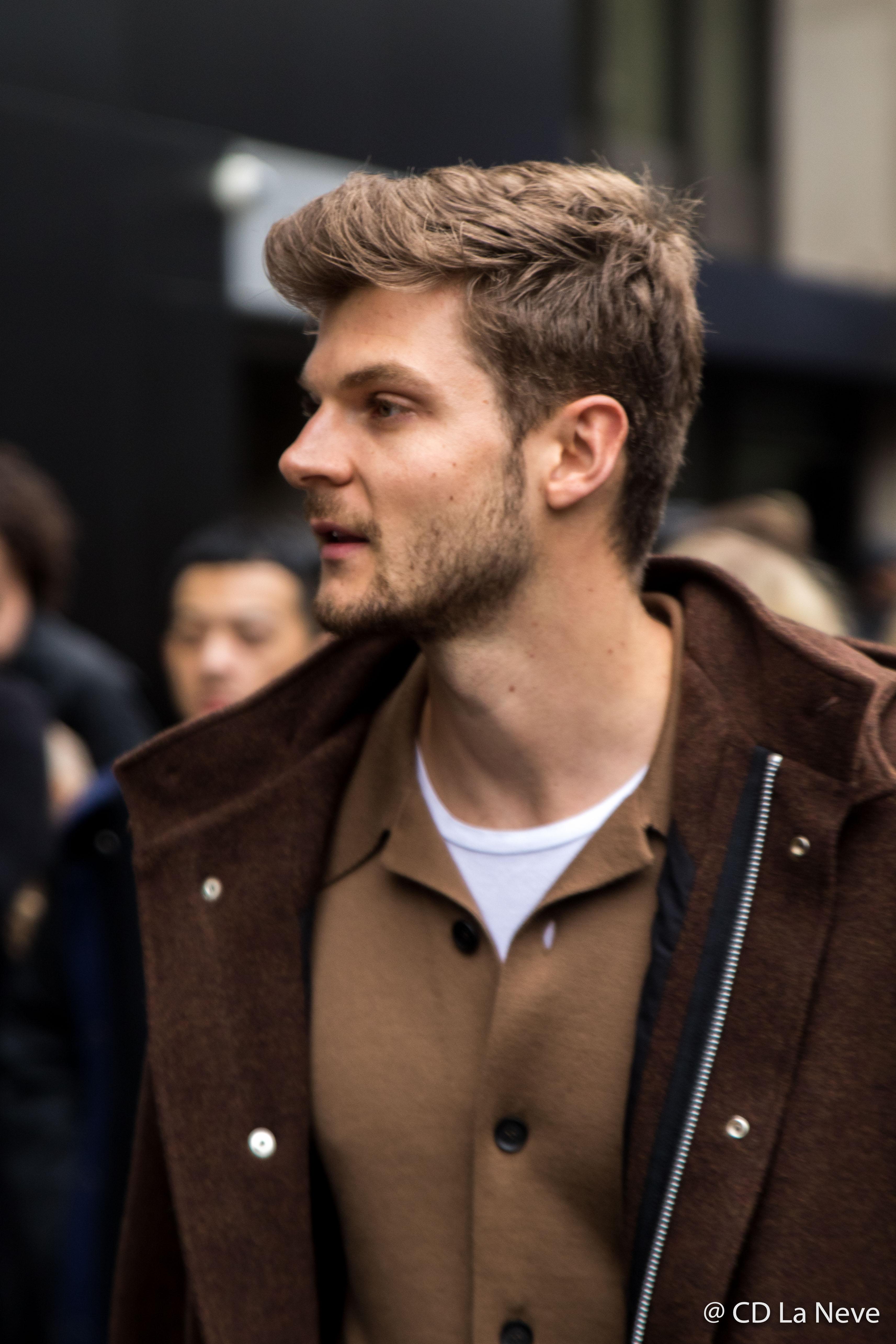 London Fashion Week Men's Street Style AW17 Jim Chapman