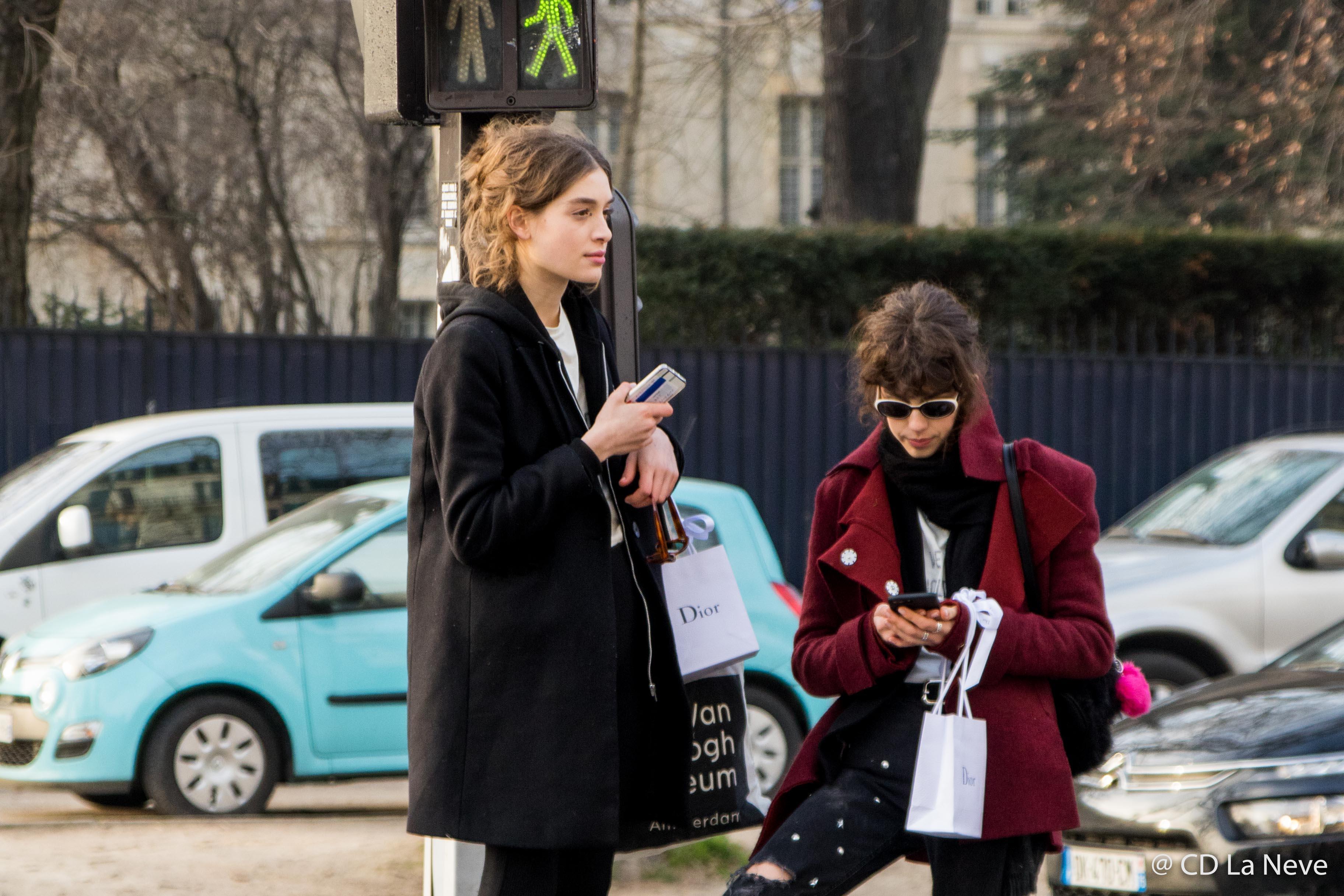 Paris Fashion Week Dior Haute Couture Models SS17
