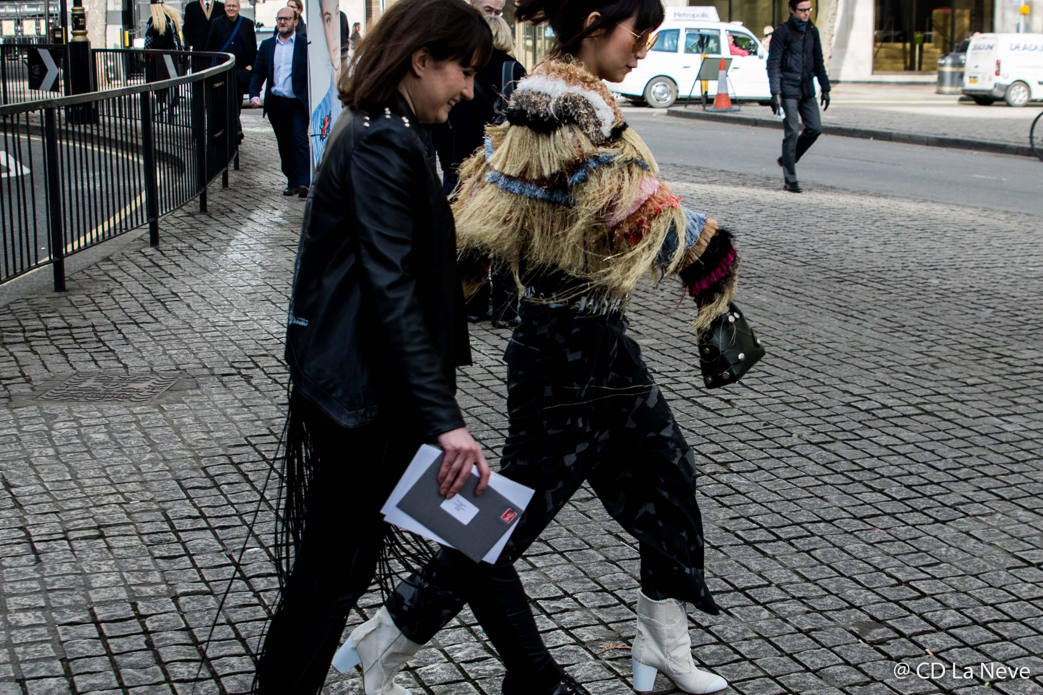 London Fashion Week Street Style AW17