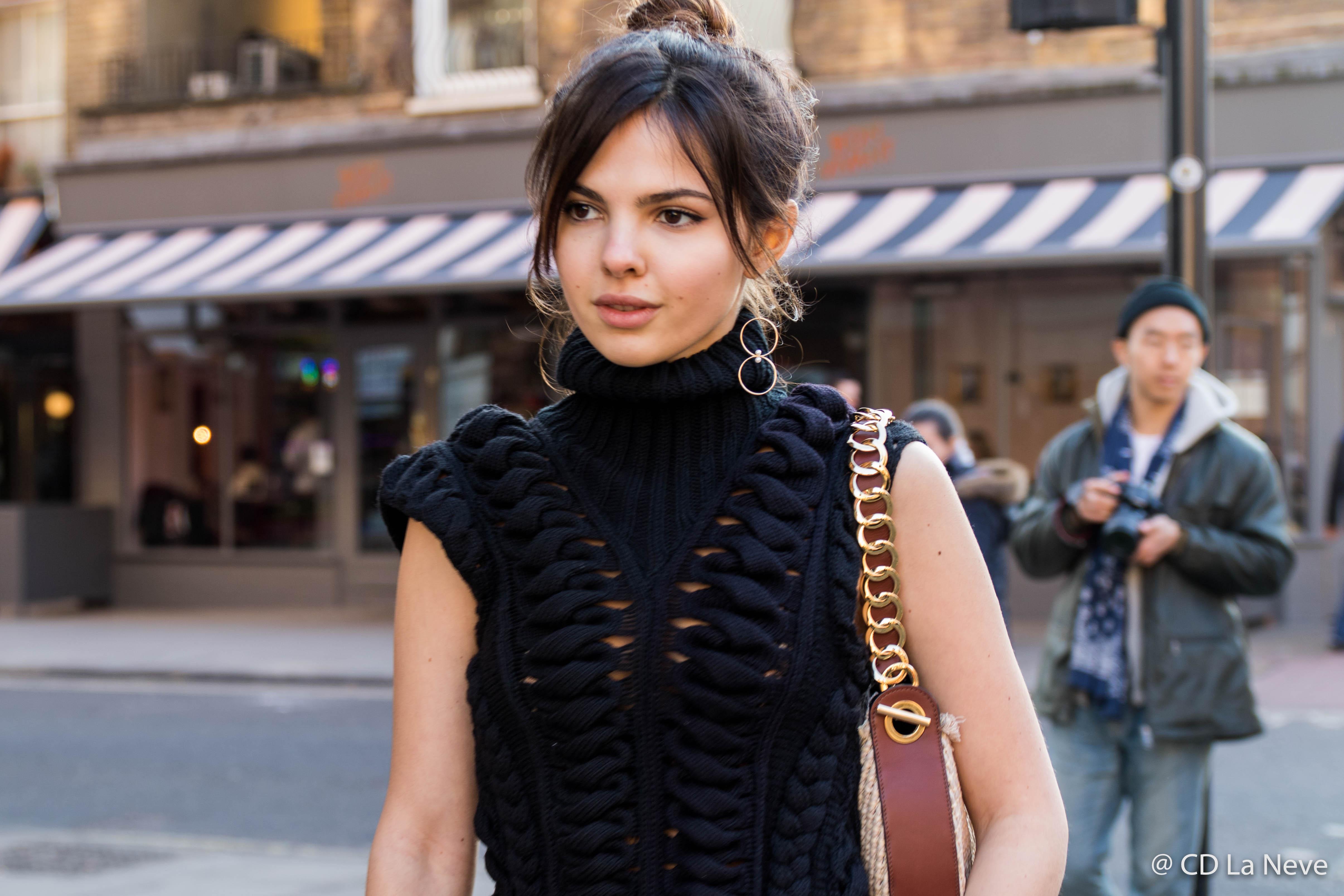 Donia Ciobanu London Fashion Week J.W.Anderson Street Style AW17