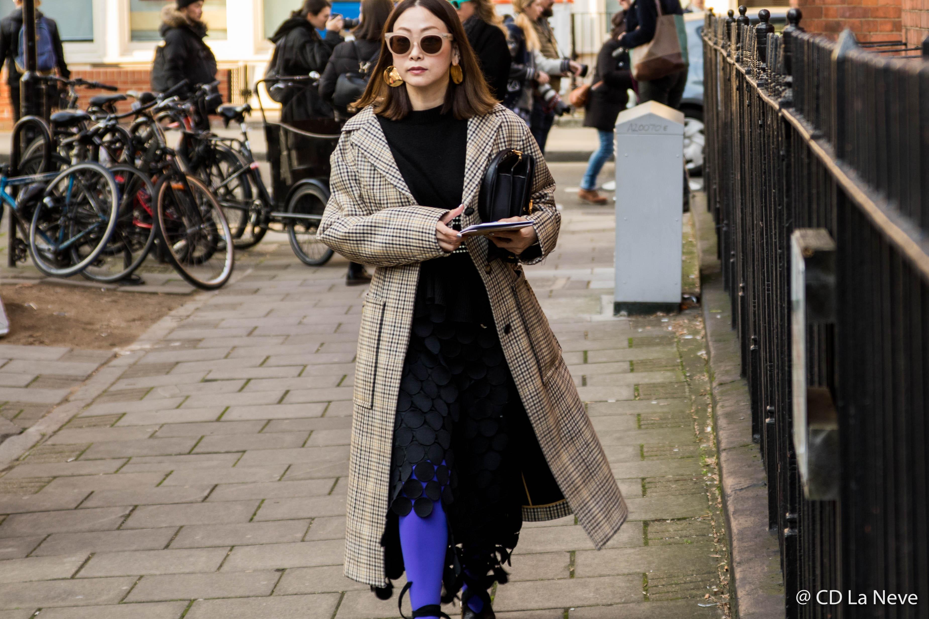 London Fashion Week J.W.Anderson Street Style AW17