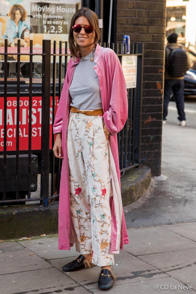 London Fashion Week J.W.Anderson AW17 Street Style ...