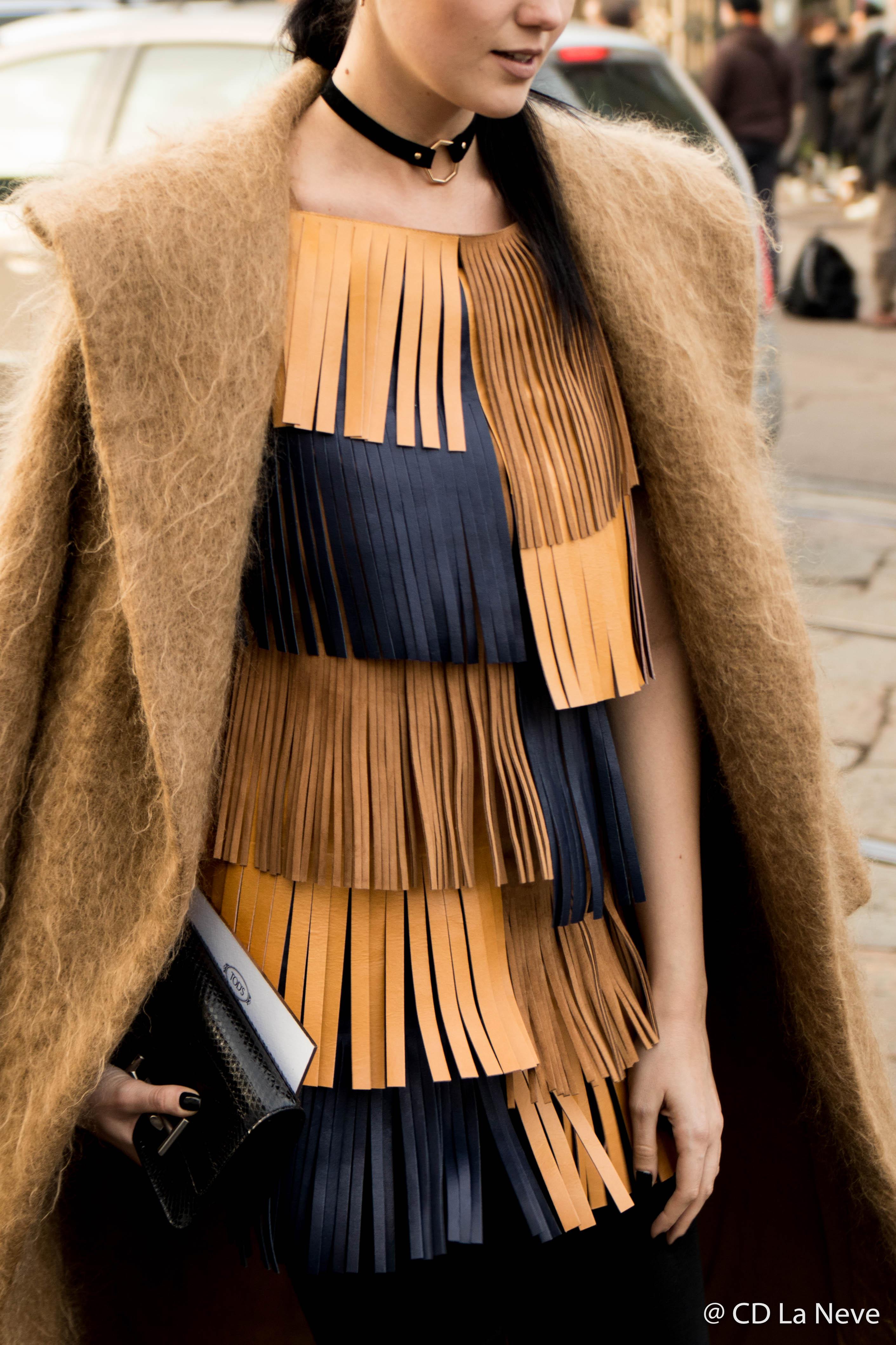 Tods Street Style Milan Fashion Week FW17