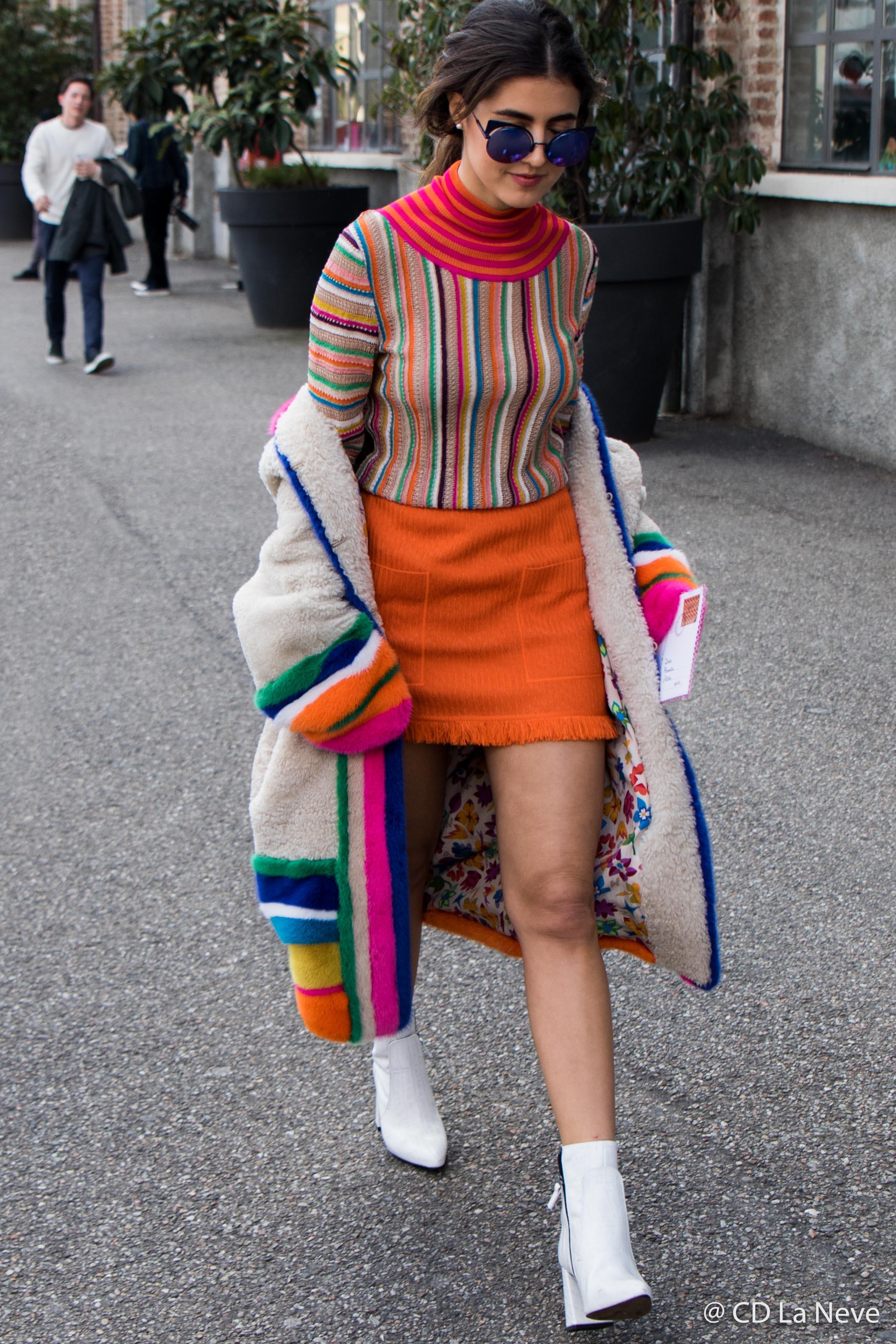 Milan Fashion Week Missoni Street Style FW17
