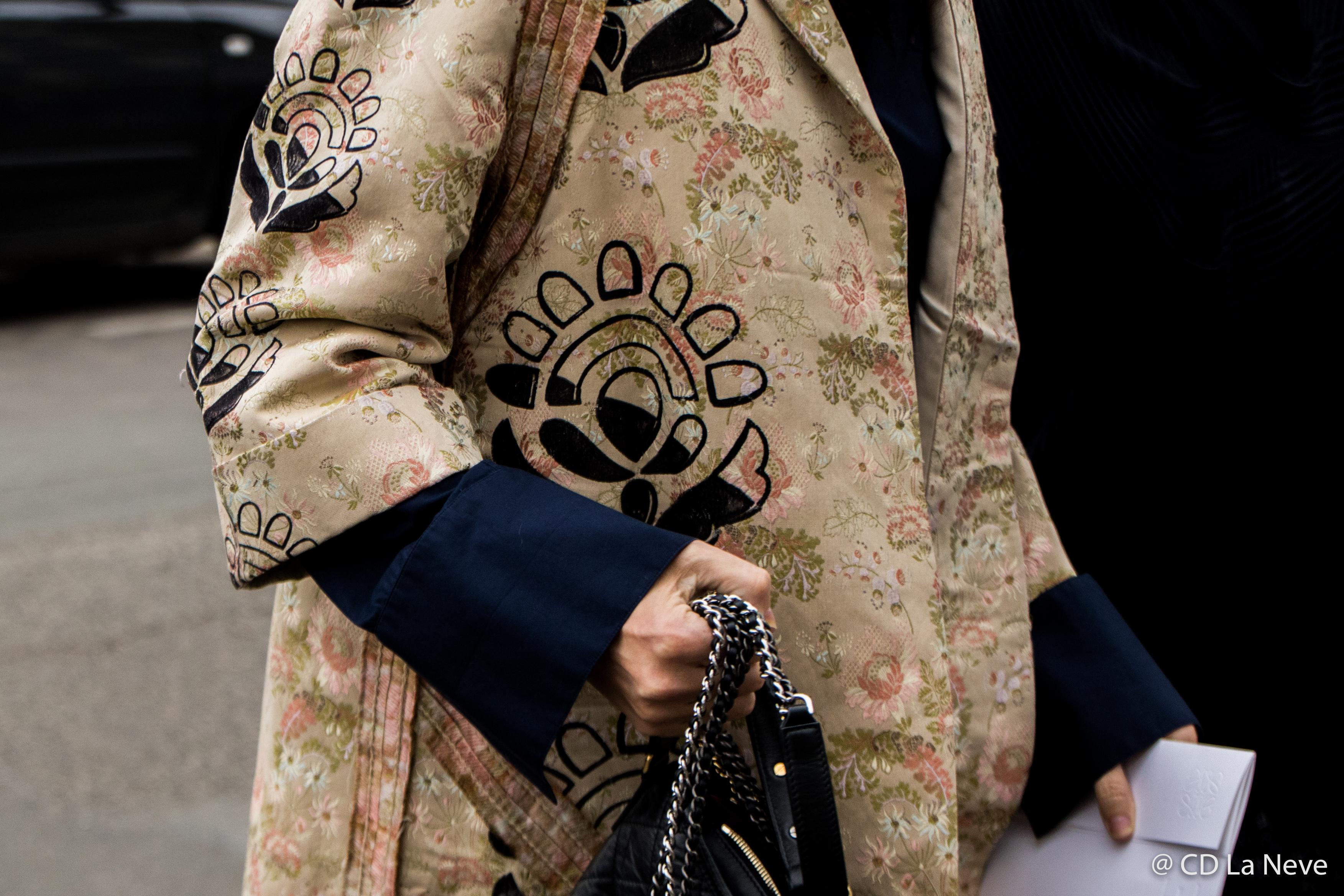 Loewe Street Style Paris Fashion Week FW17