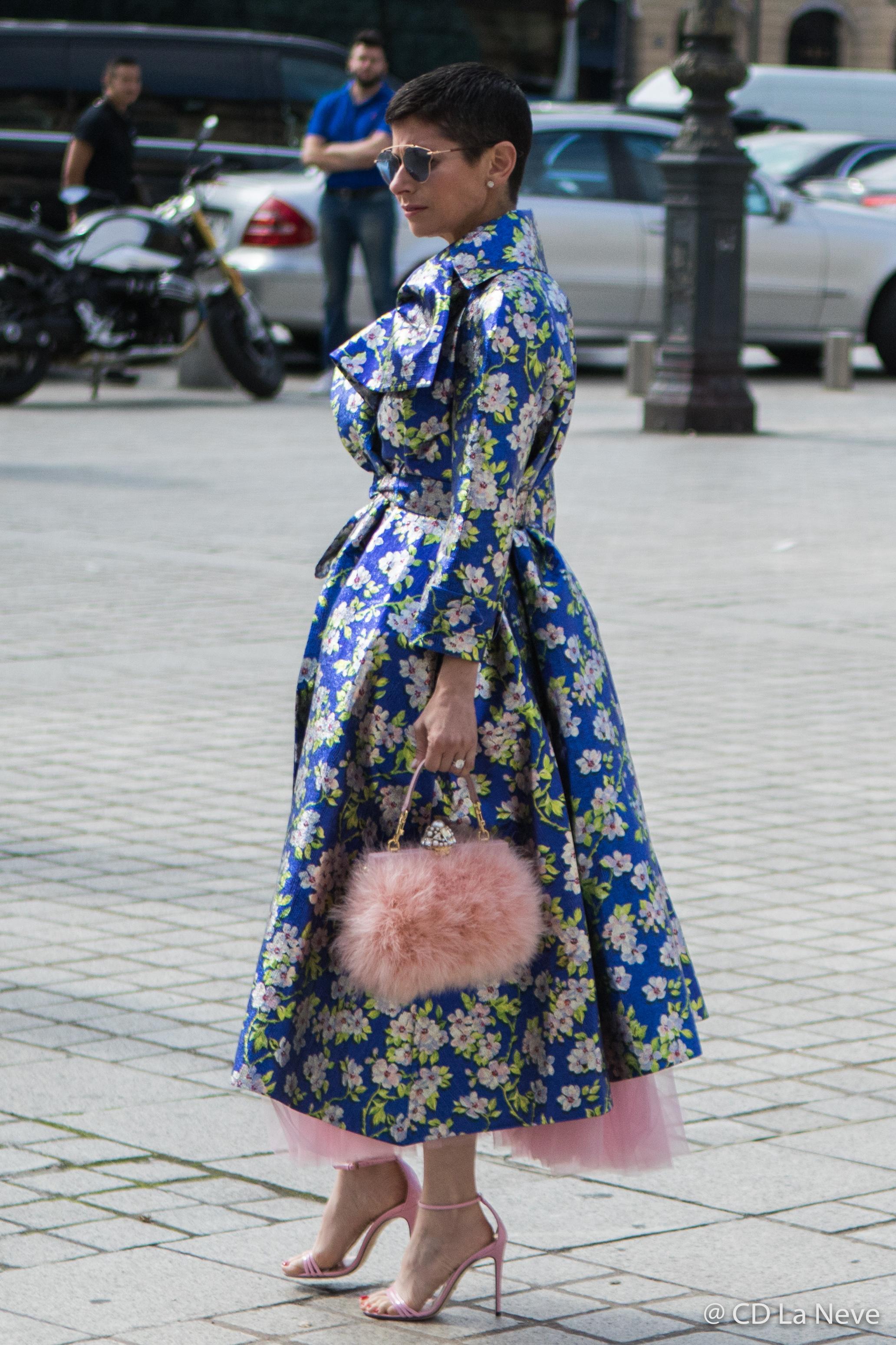 Paris Fashion Week Schiaparelli Haute Couture Street Style PFW AW17