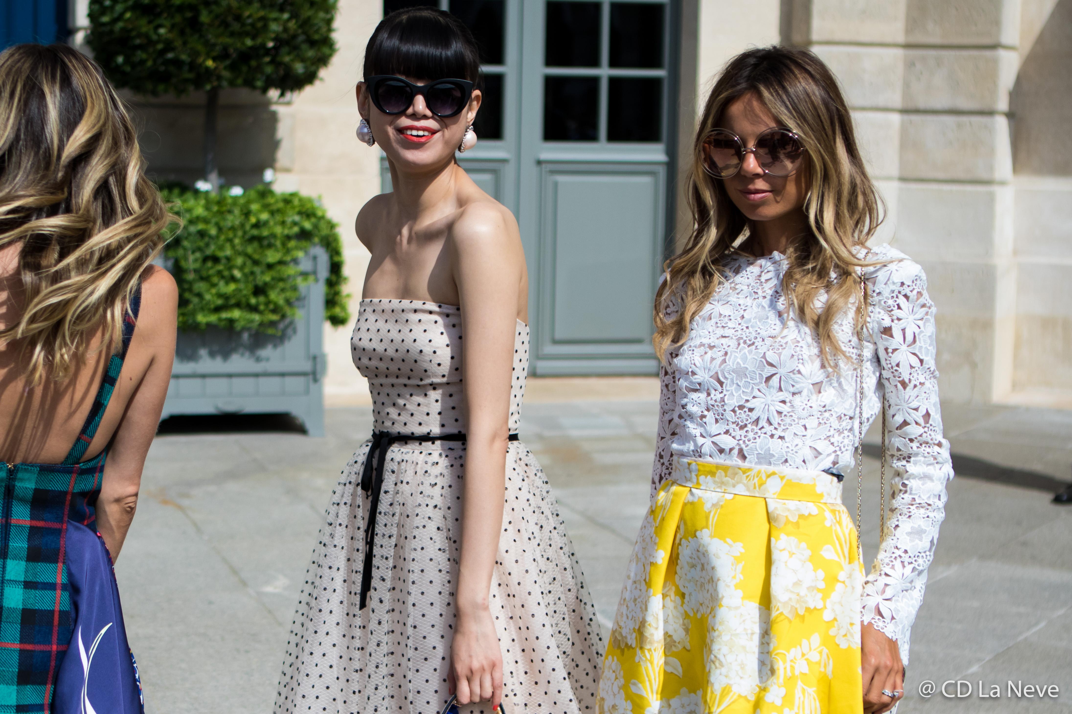 Leaf Greener Erica Pelosini Leeman Schiaparelli Paris Fashion Week Haute Couture Street Style AW17 PFW