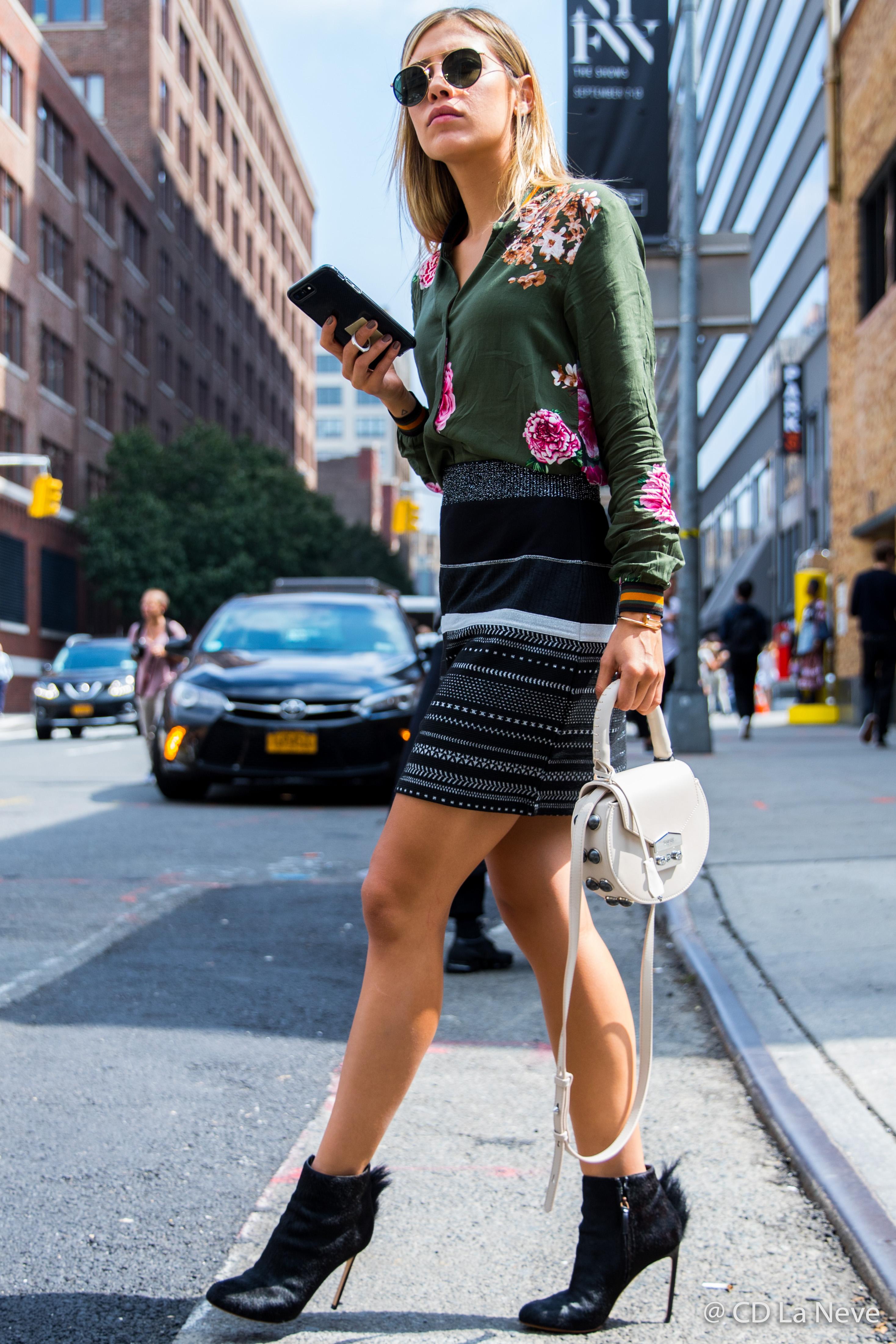 New York Fashion Week Street Style SS18 NYFW