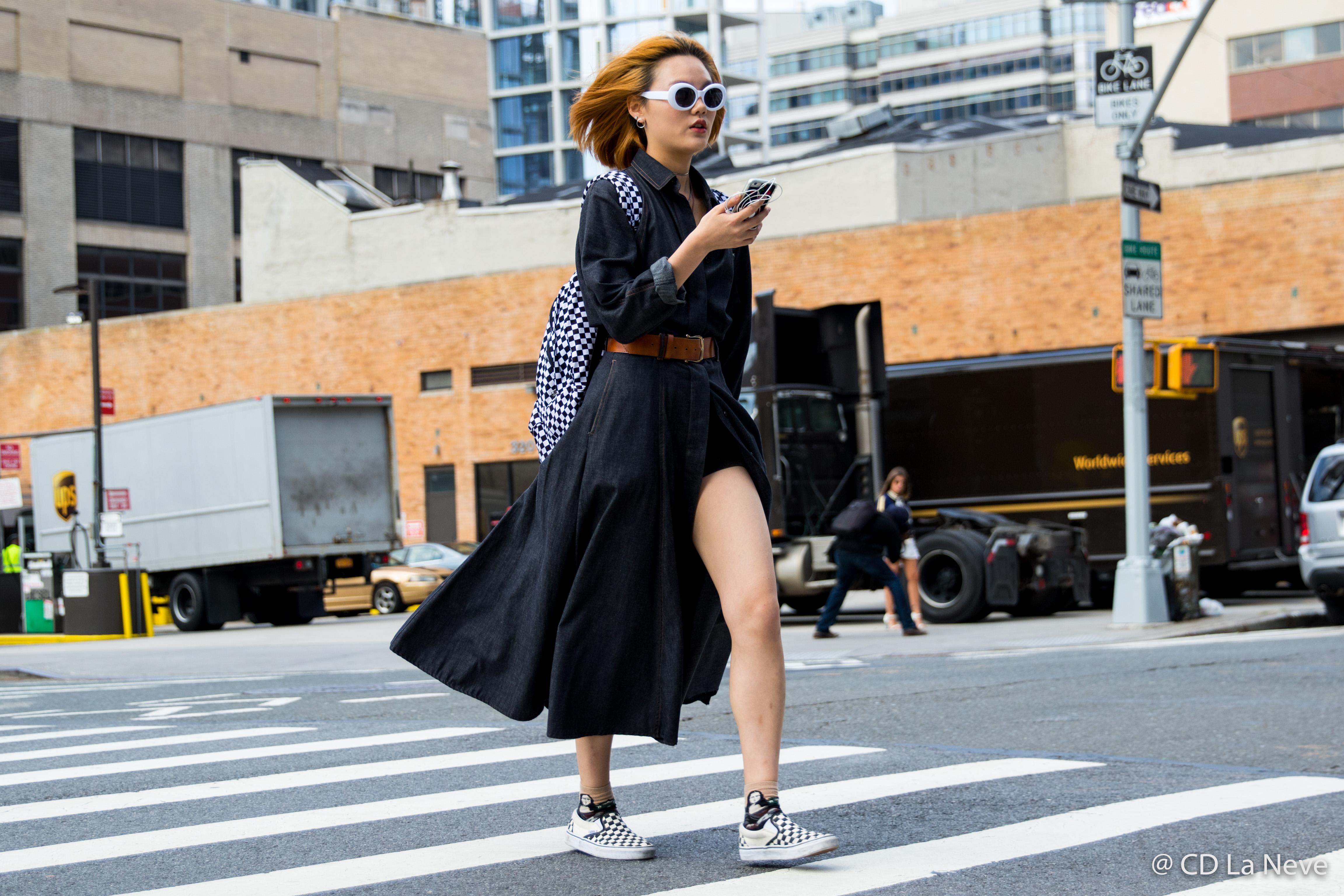 New York Fashion Week Street Style NYFW SS18