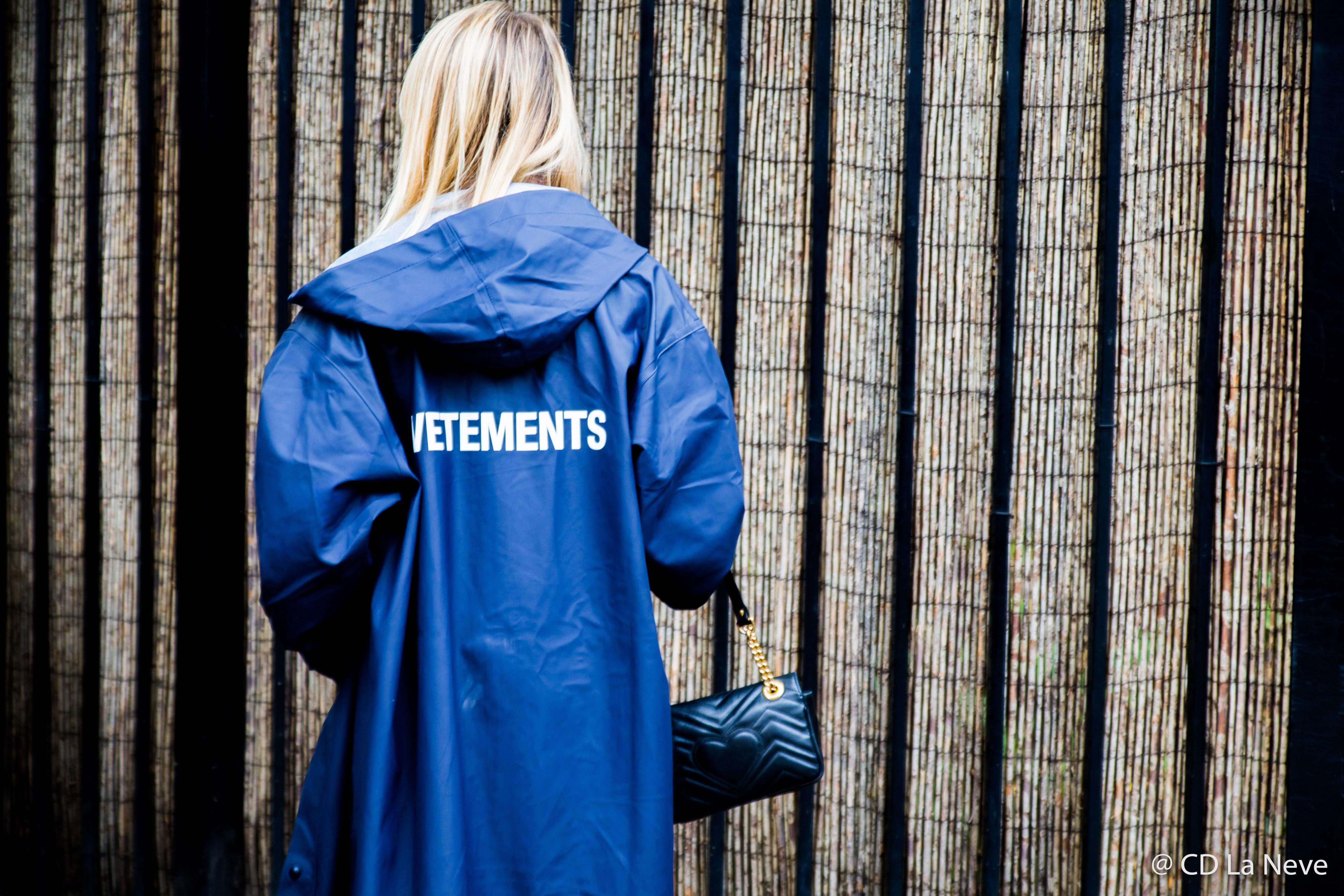 Vetements Street Style London Fashion Week SS18 LFW