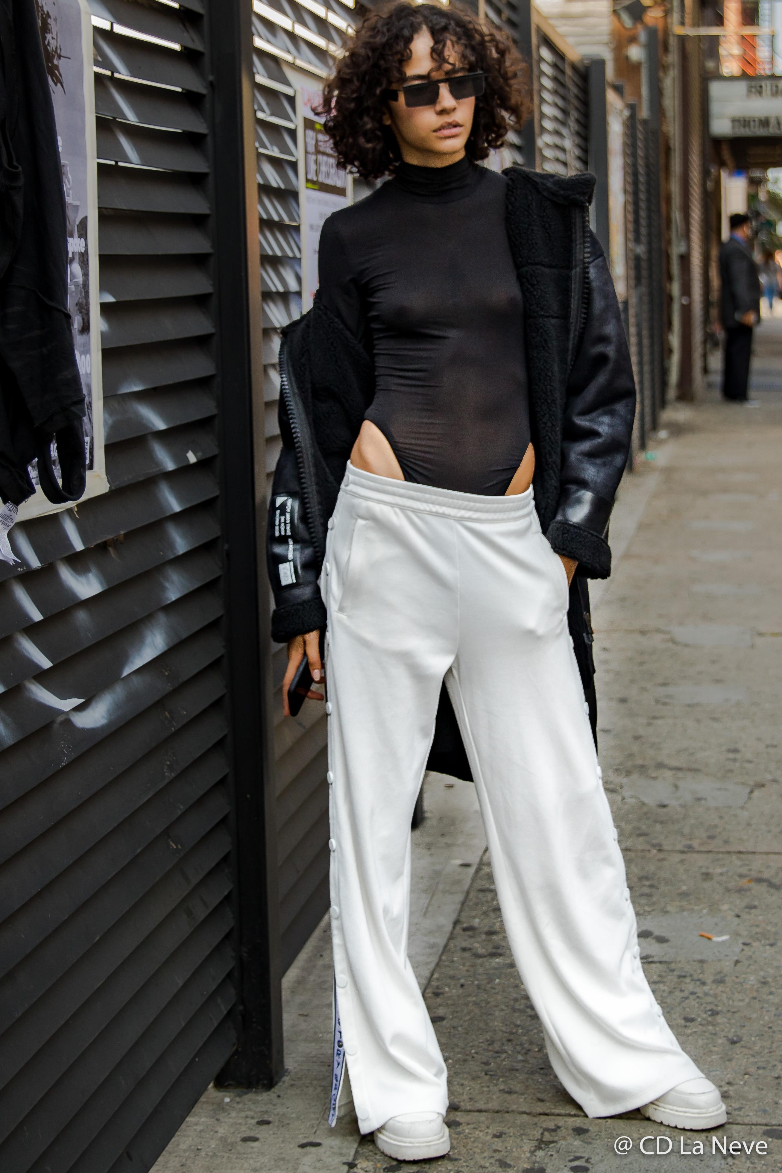 Model Street Style New York Fashion Week NYFW SS18