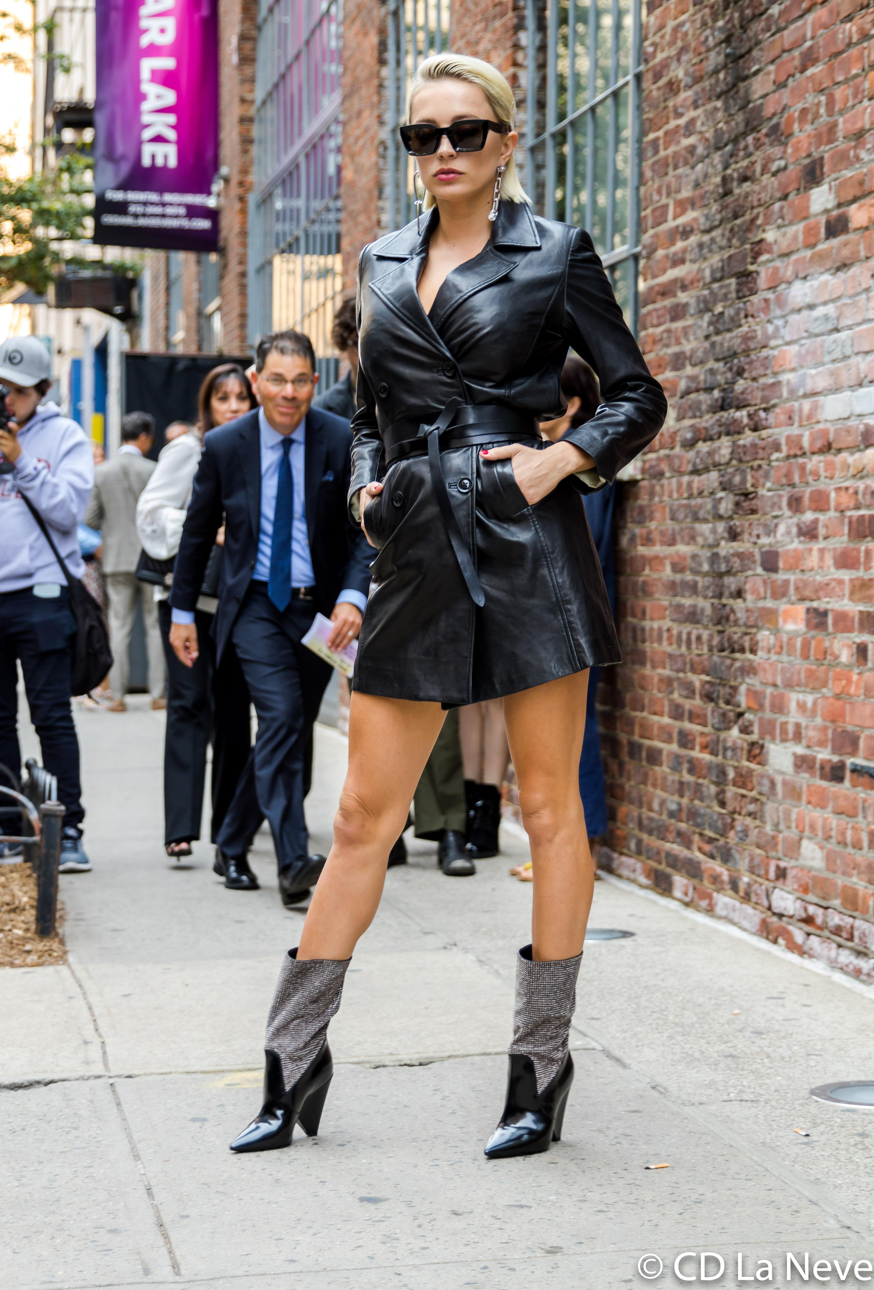 Caroline Vreeland New York Fashion Week Zadig & Voltaire Street Style NYFW SS18