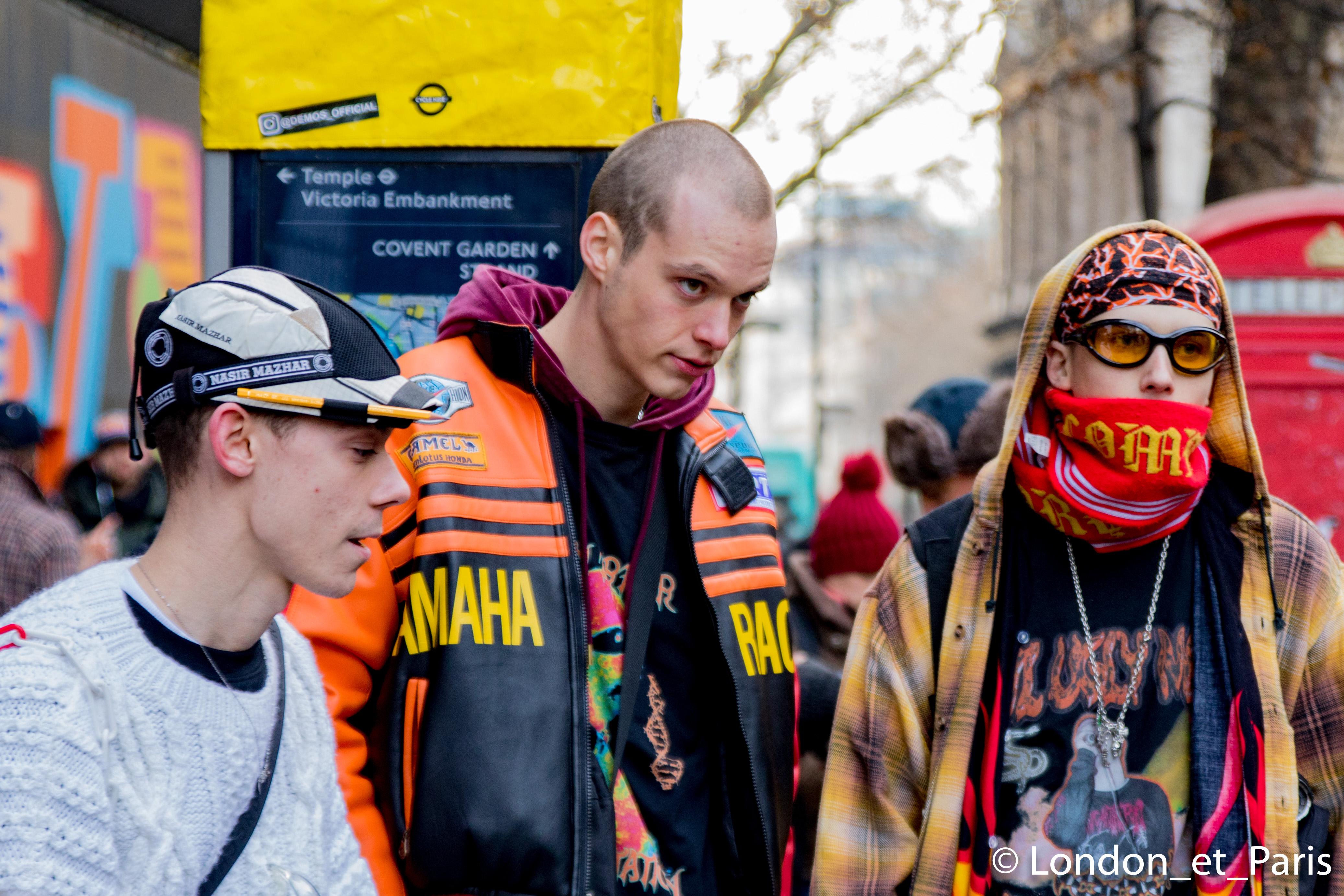 Street Style London Fashion Week Men's FW18 LFWM