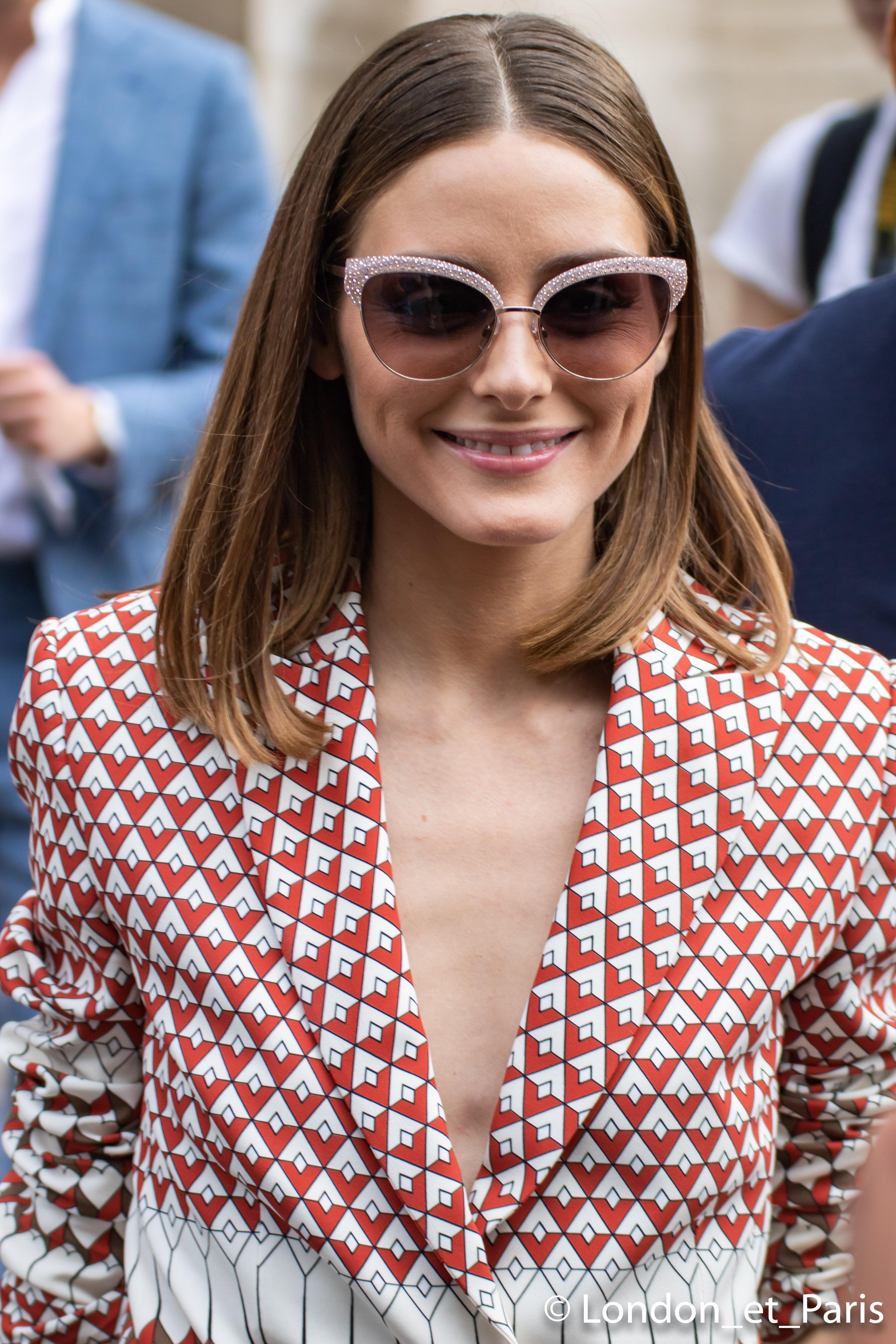 Olivia Palermo Street Style Paris Fashion Week Schiaparelli Haute Couture FW18