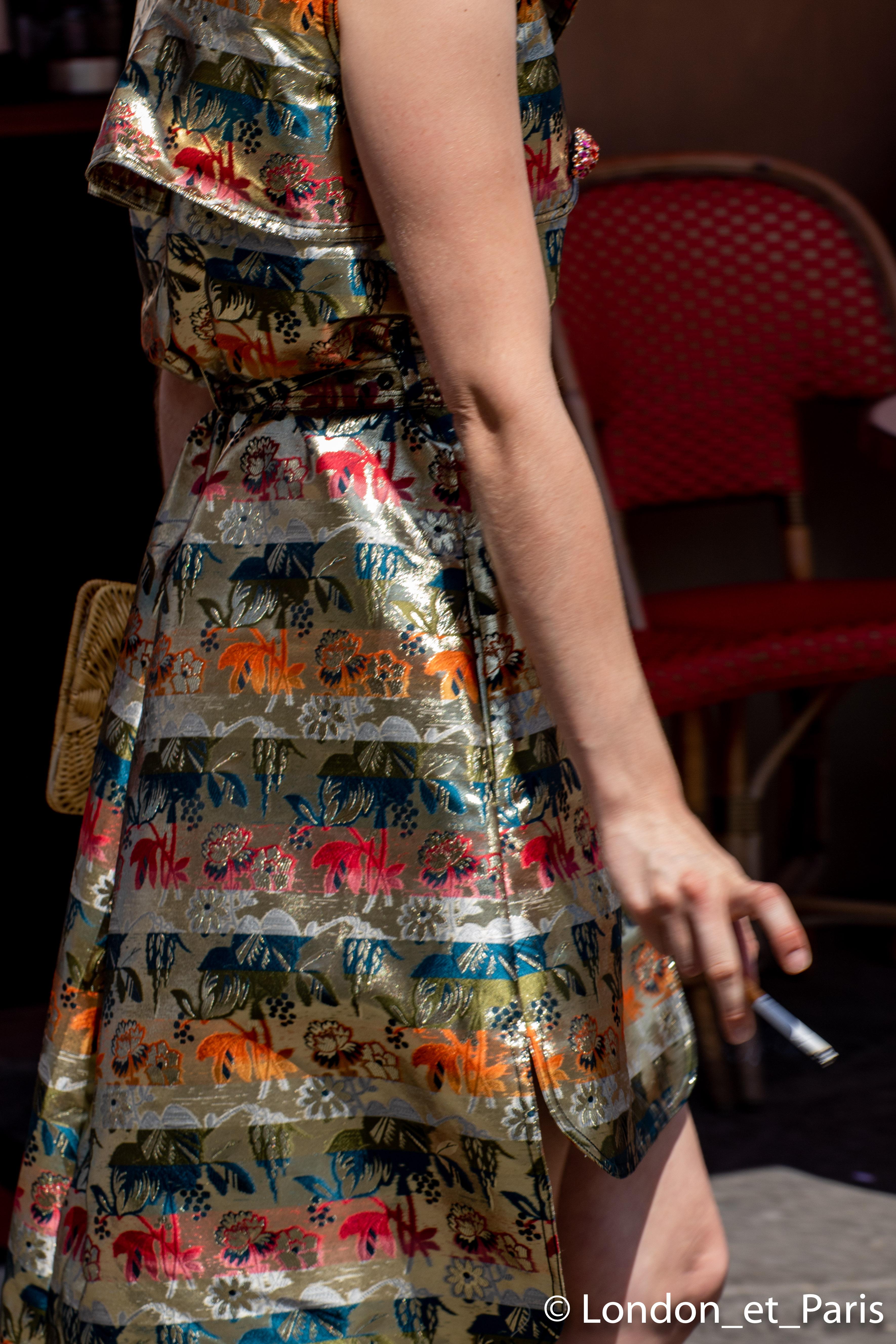 Alexis Mabille Street Style Paris Fashion Week Haute Couture FW18