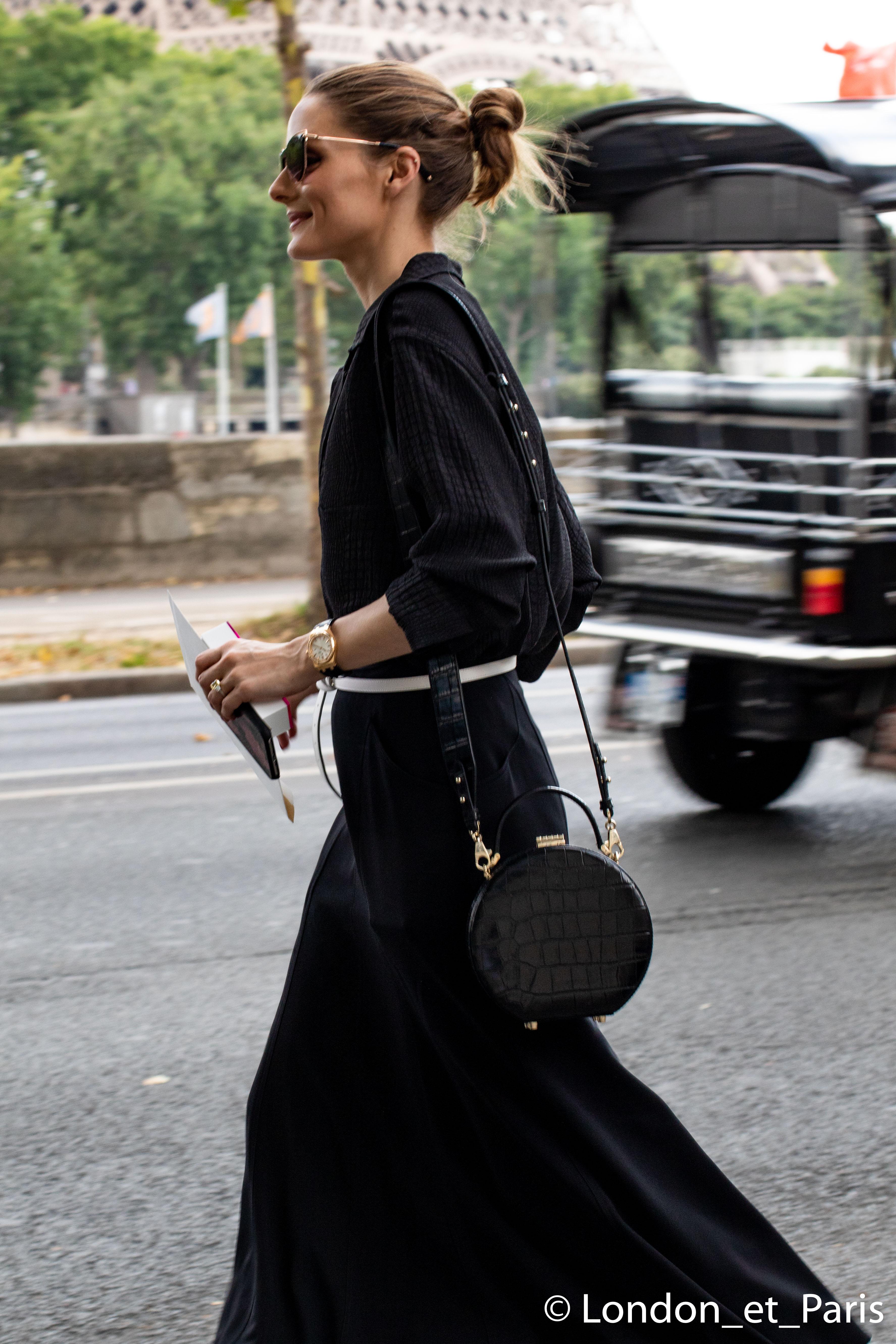 96d1ad32f77 Olivia Palermo Street Style Célia Kritharioti Paris Fashion Week Haute  Couture FW18