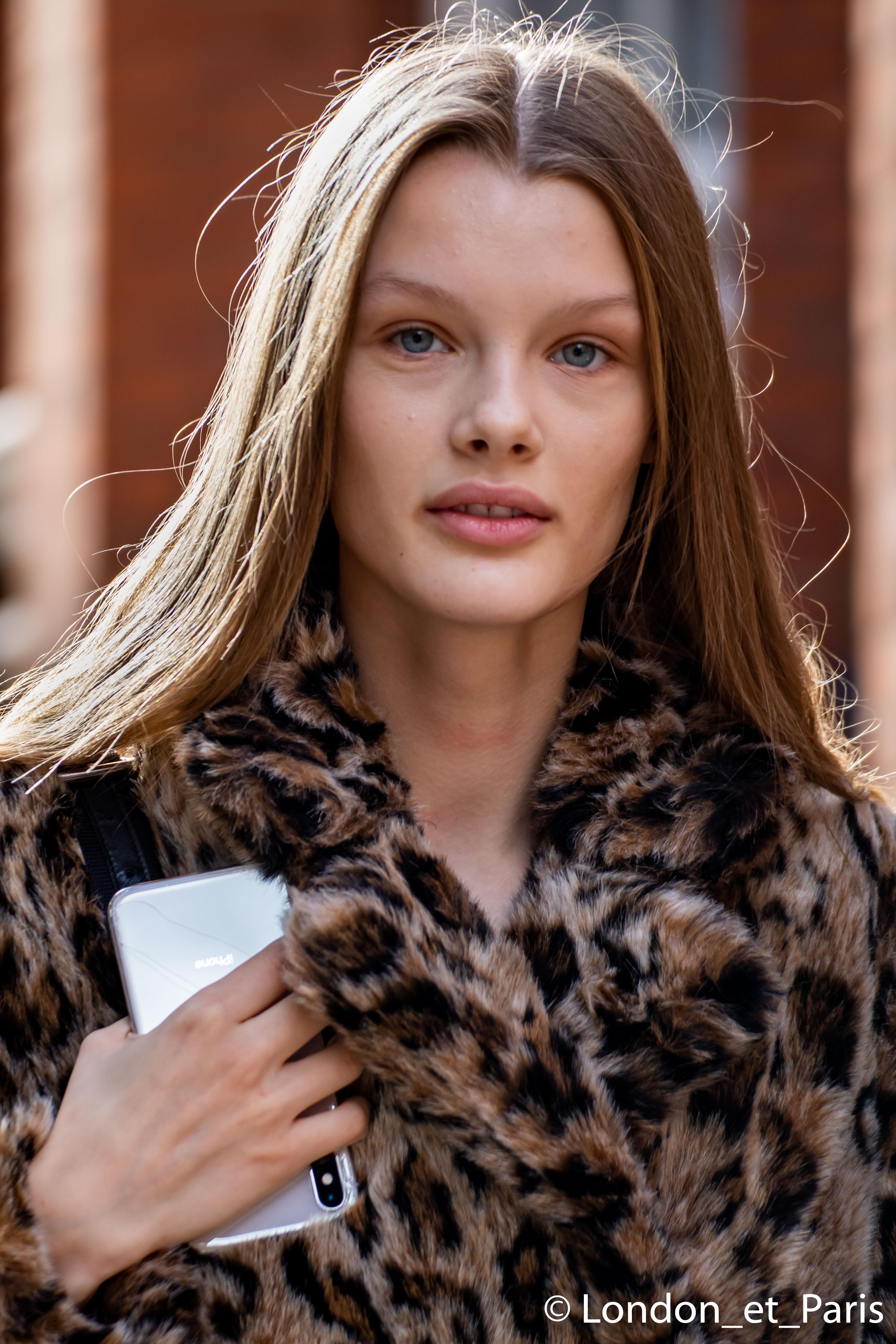 London Fashion Week Model Street Style JW Anderson SS19