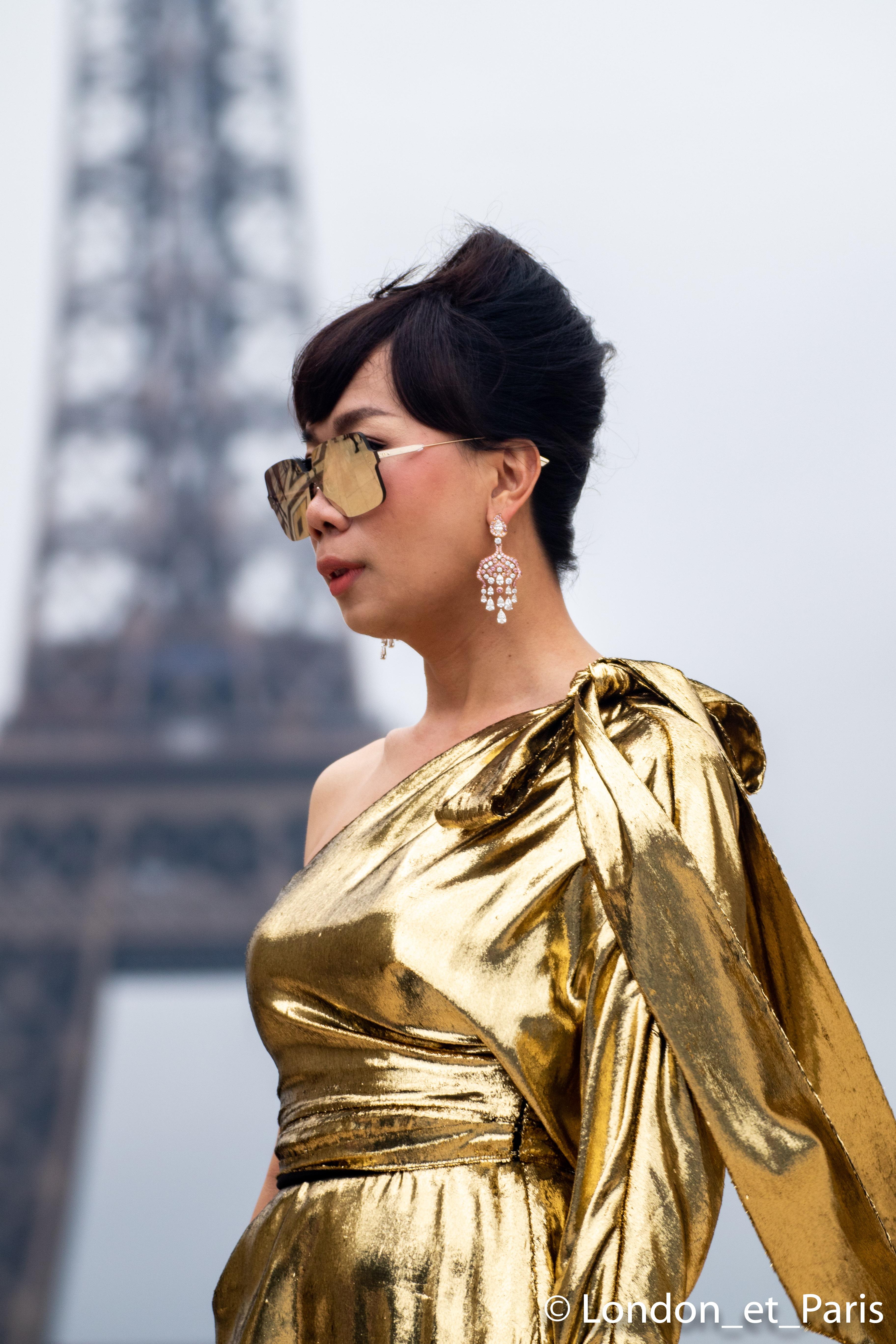 5fe5a8cd1 Paris Fashion Week Haute Couture Maison Margiela Street Style