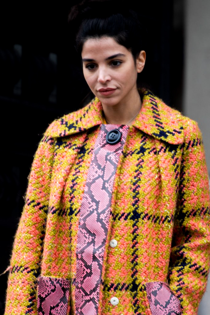 Paris Fashion Week Chanel Haute Couture Street Style SS19