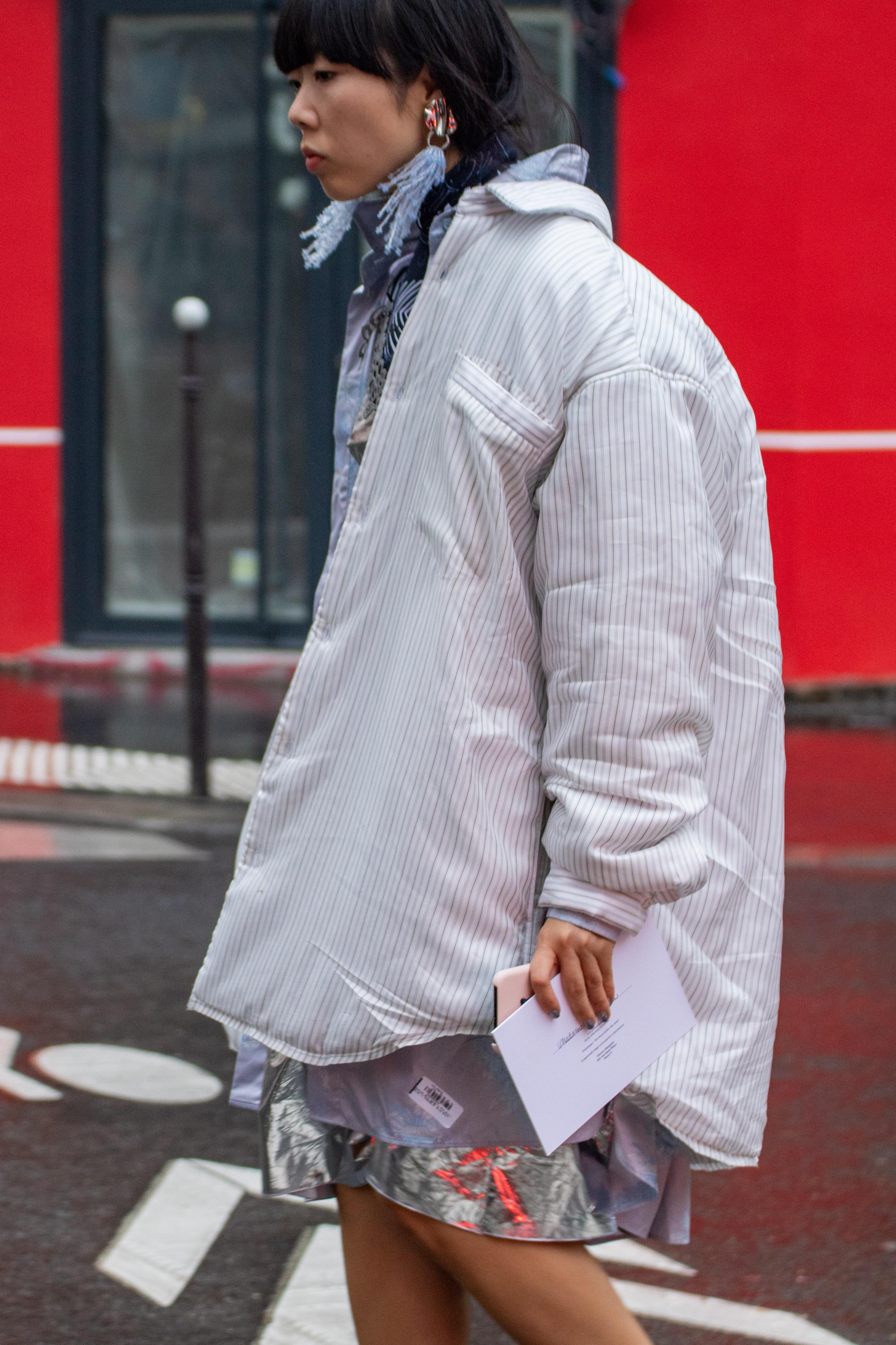 Susie Bubble Maison Margiela Paris Fashion Week Haute Couture Street Style SS19