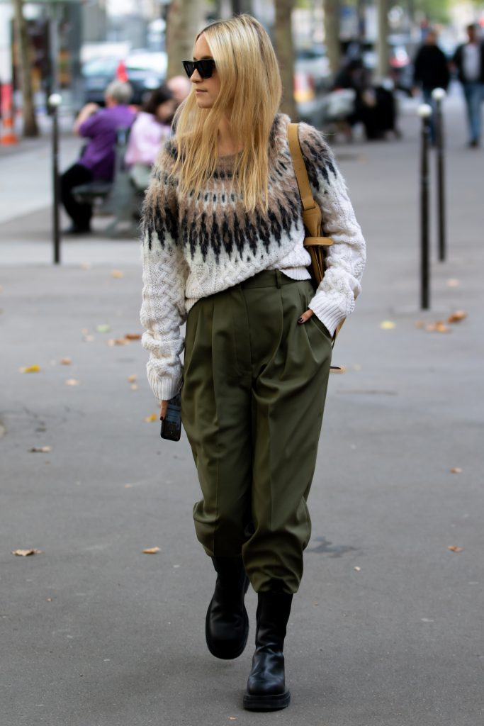 Charlotte Groeneveld Street Style Paris Fashion Week Altuzarra SS20 PFW