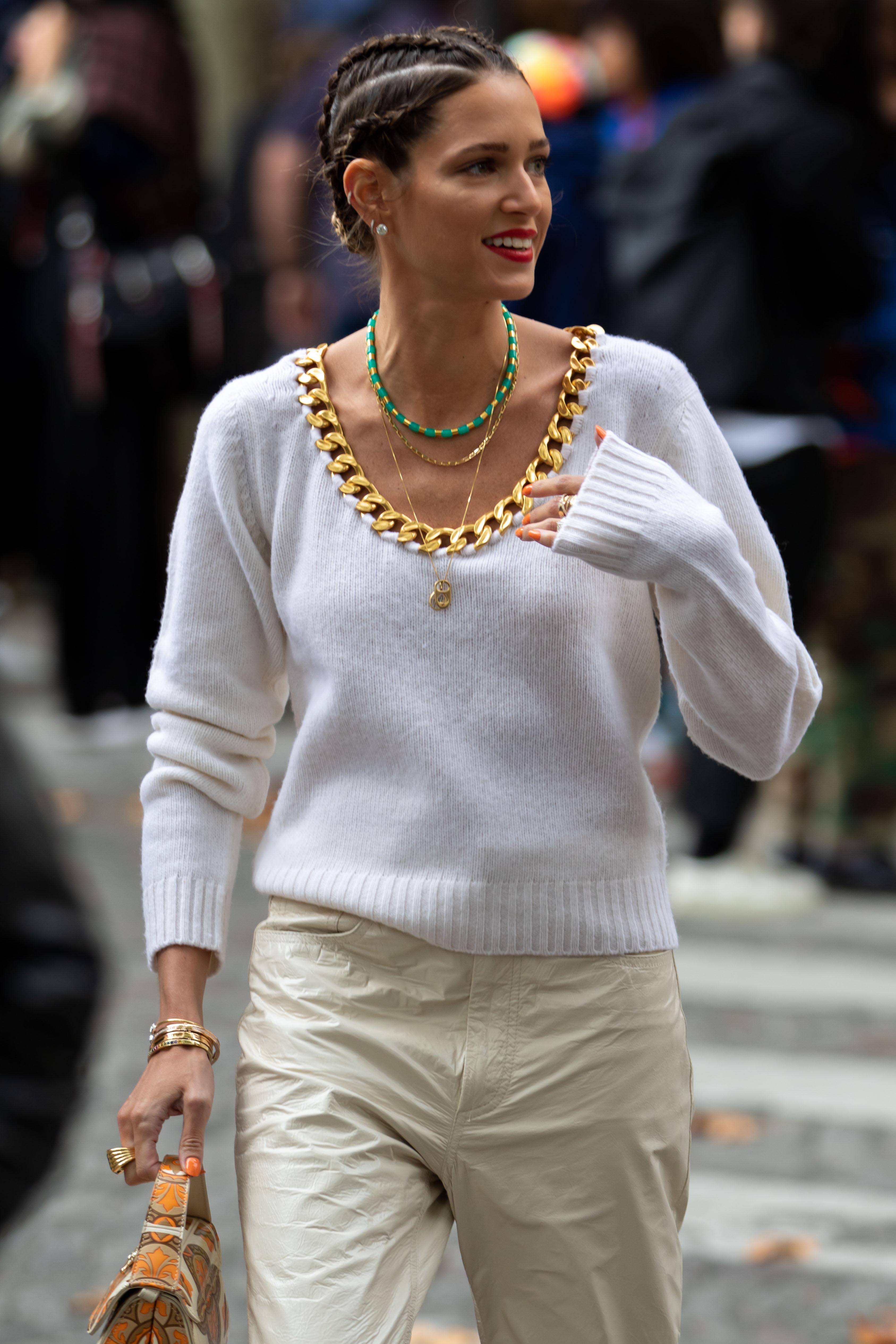 Helena Bordon Street Style Paris Fashion Week Altuzarra SS20 PFW