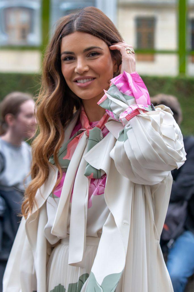 NeginMirsalehi Street Style Paris Fashion Week Maison Valentino SS20 PFW