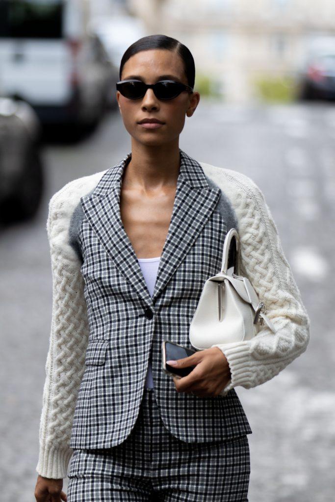 Paris Fashion Week Altuzarra Street Style SS20 Model