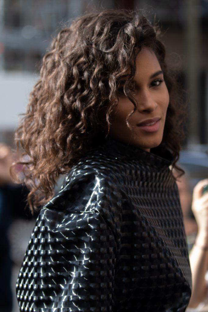 Cindy Bruna Balmain Street Style Paris Fashion Week SS20