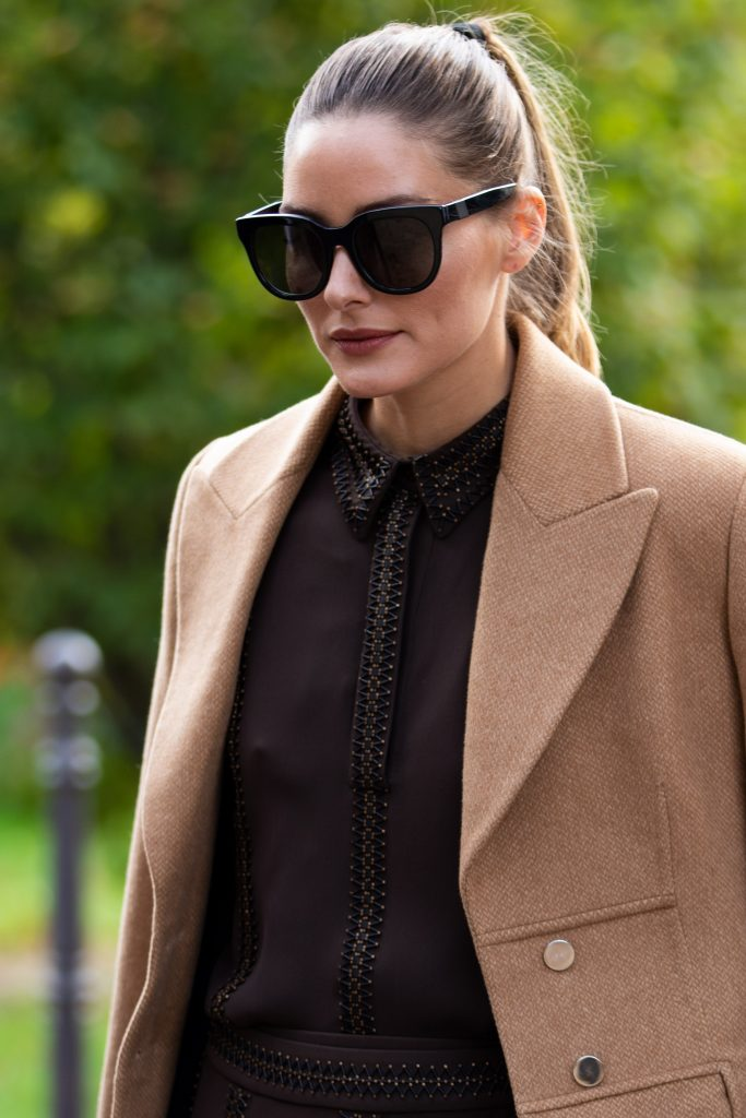 Olivia Palermo Street Style after Elie Saab Paris Fashion Week SS20