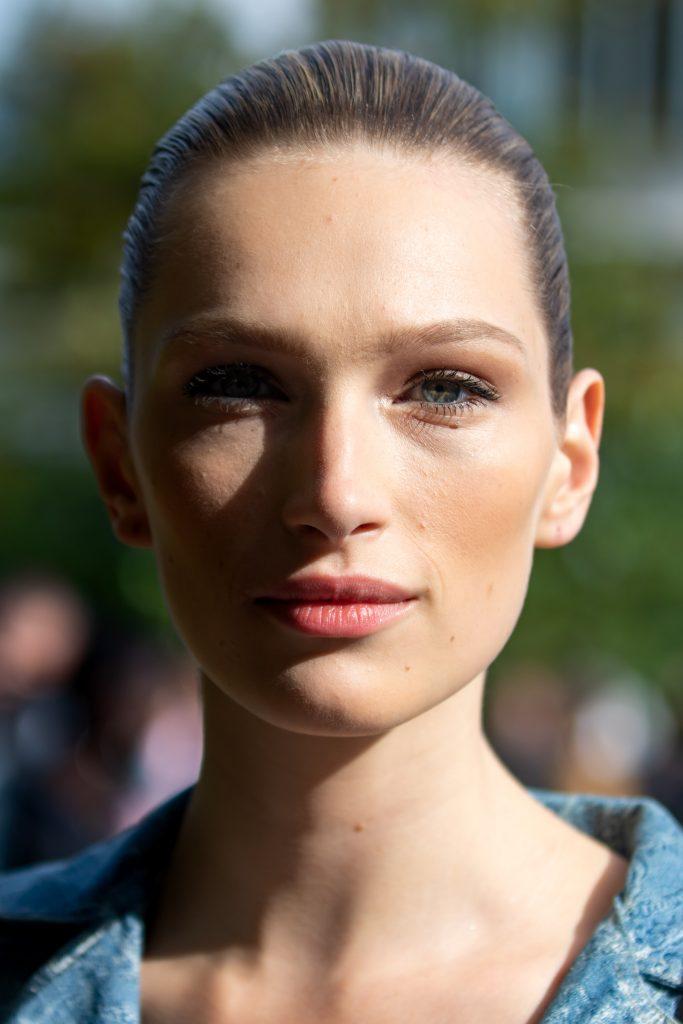 Paris Fashion Week Elie Saab Model Street Style SS20