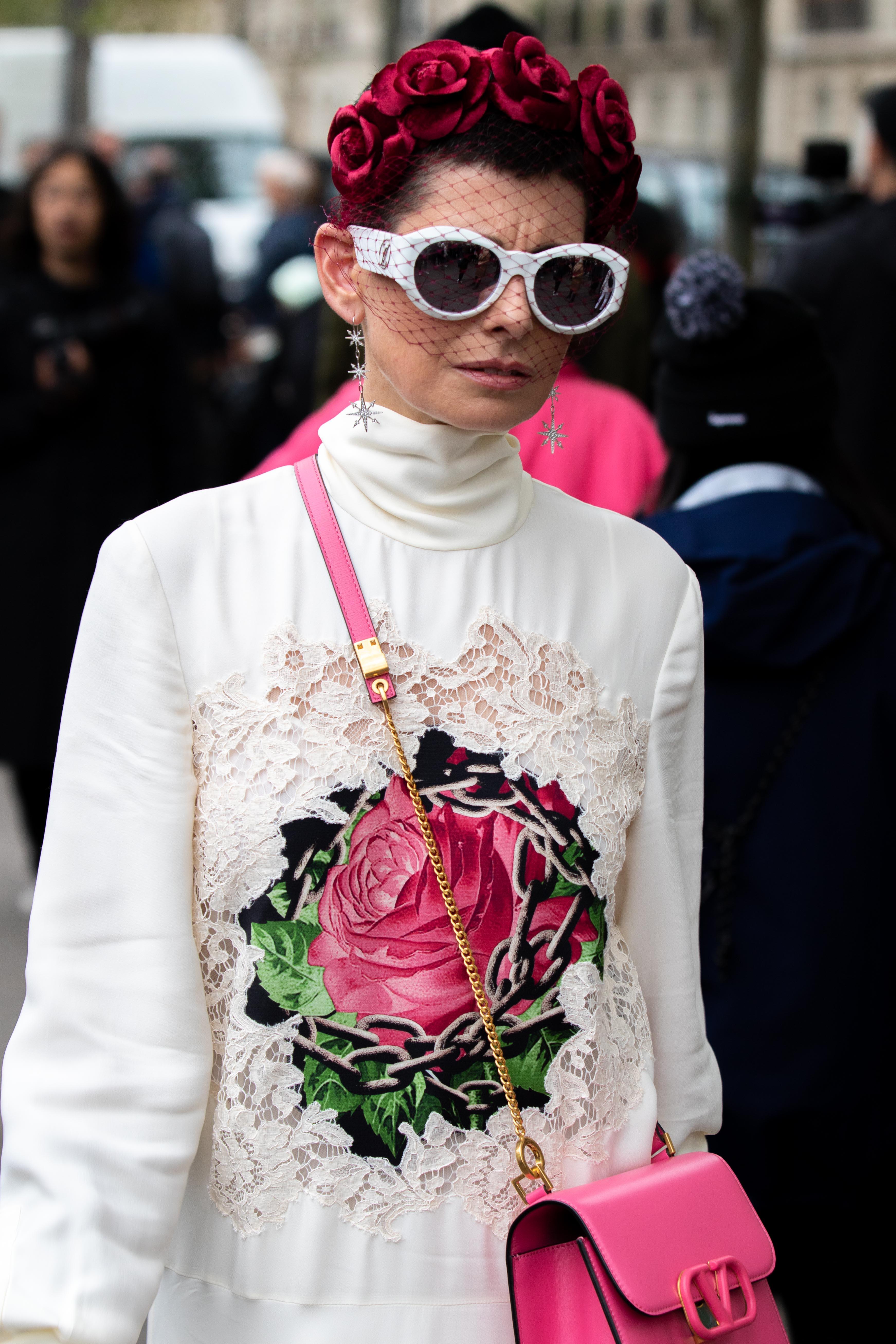 Lauren Kulchinsky Levison Street Style Paris Fashion Week Maison Valentino SS20 PFW