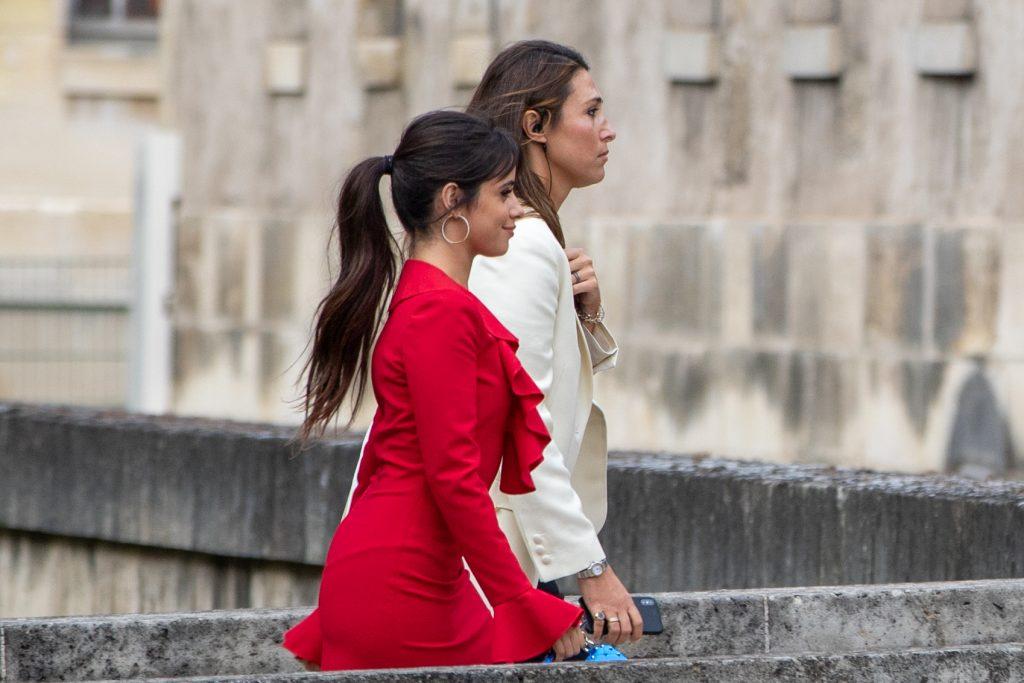 Camila Cabello Street Style Paris Fashion Week Maison Valentino SS20 PFW