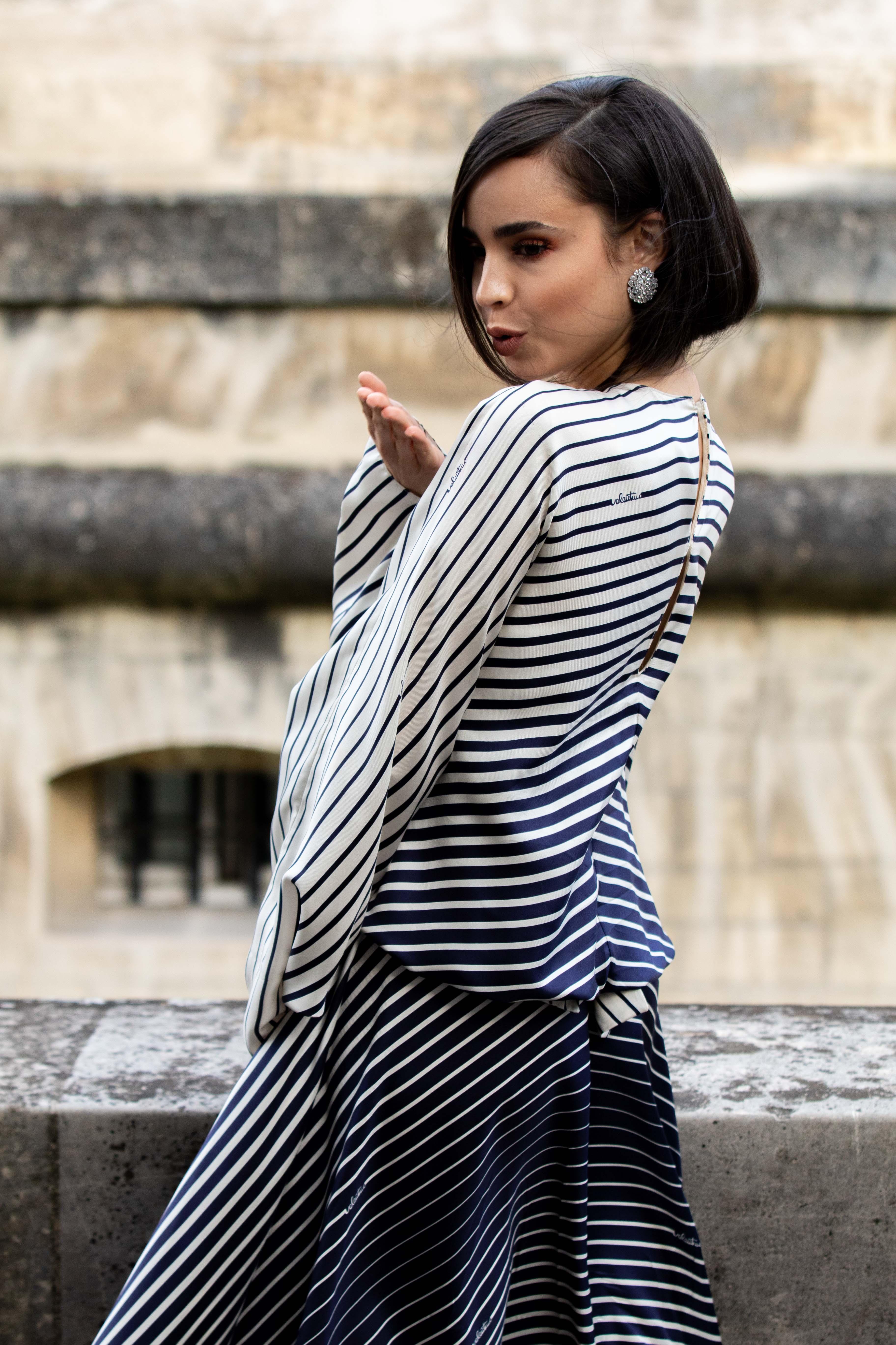 Sofia Carson Street Style Paris Fashion Week Maison Valentino SS20 PFW