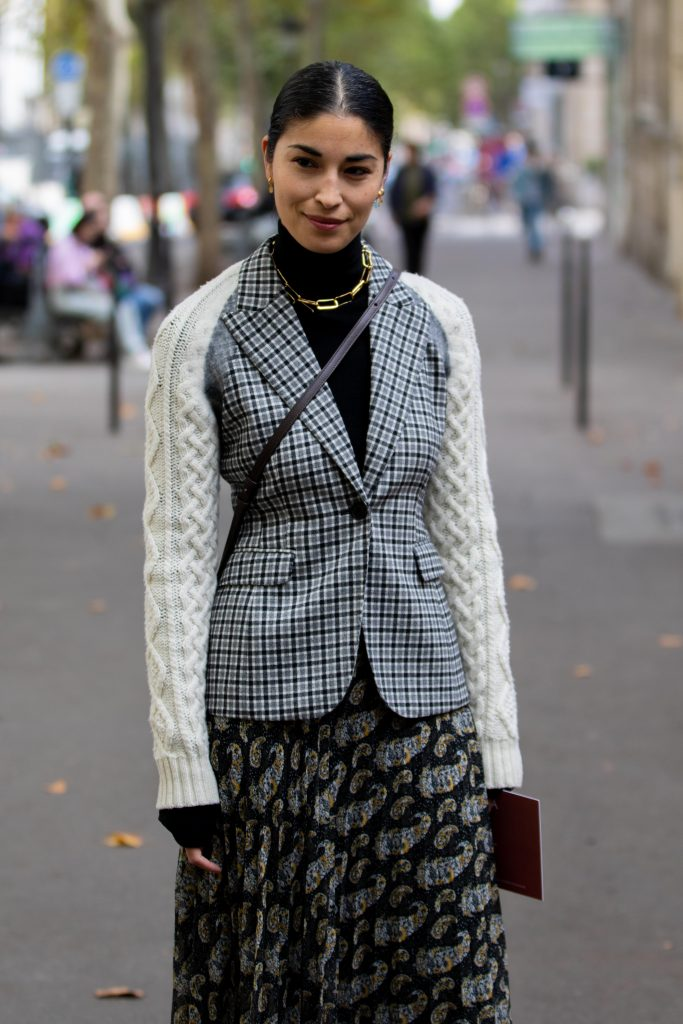 Caroline Issa Street Style Paris Fashion Week Altuzarra SS20